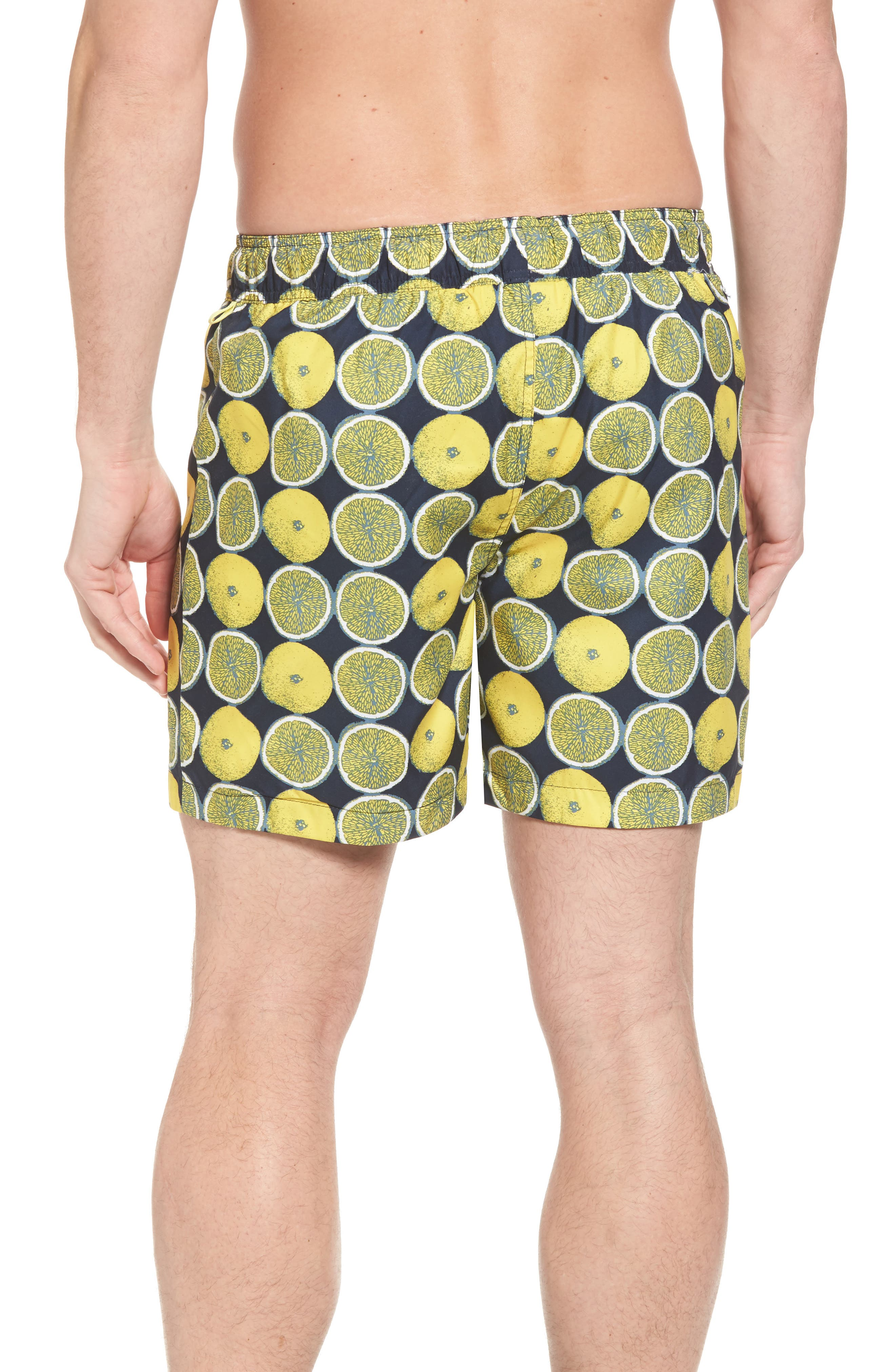 Reversible Volley Board Shorts,                             Alternate thumbnail 3, color,                             Dark Sapphire