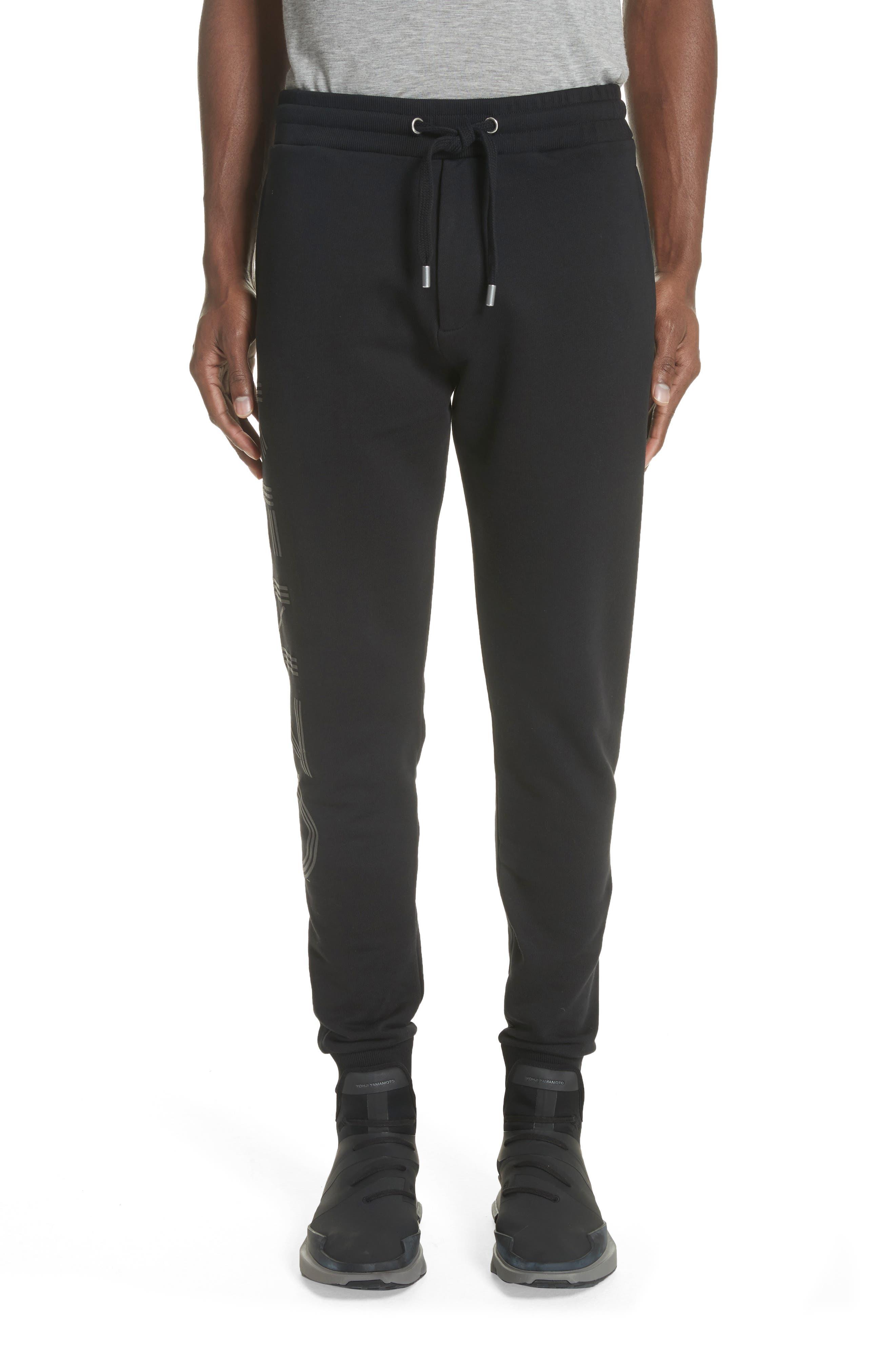Logo Jogger Pants,                         Main,                         color, Black