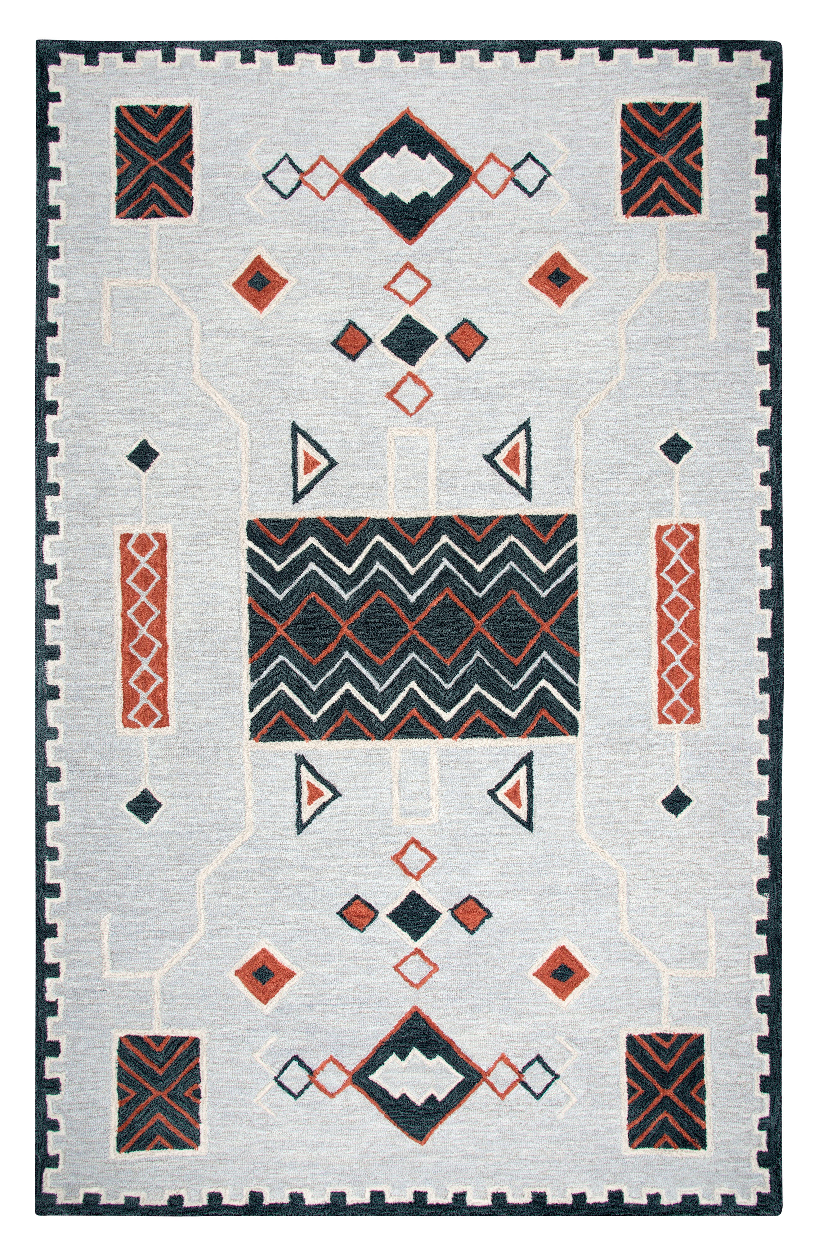 Main Image - Rizzy Home Mesa Oak Creek Rug