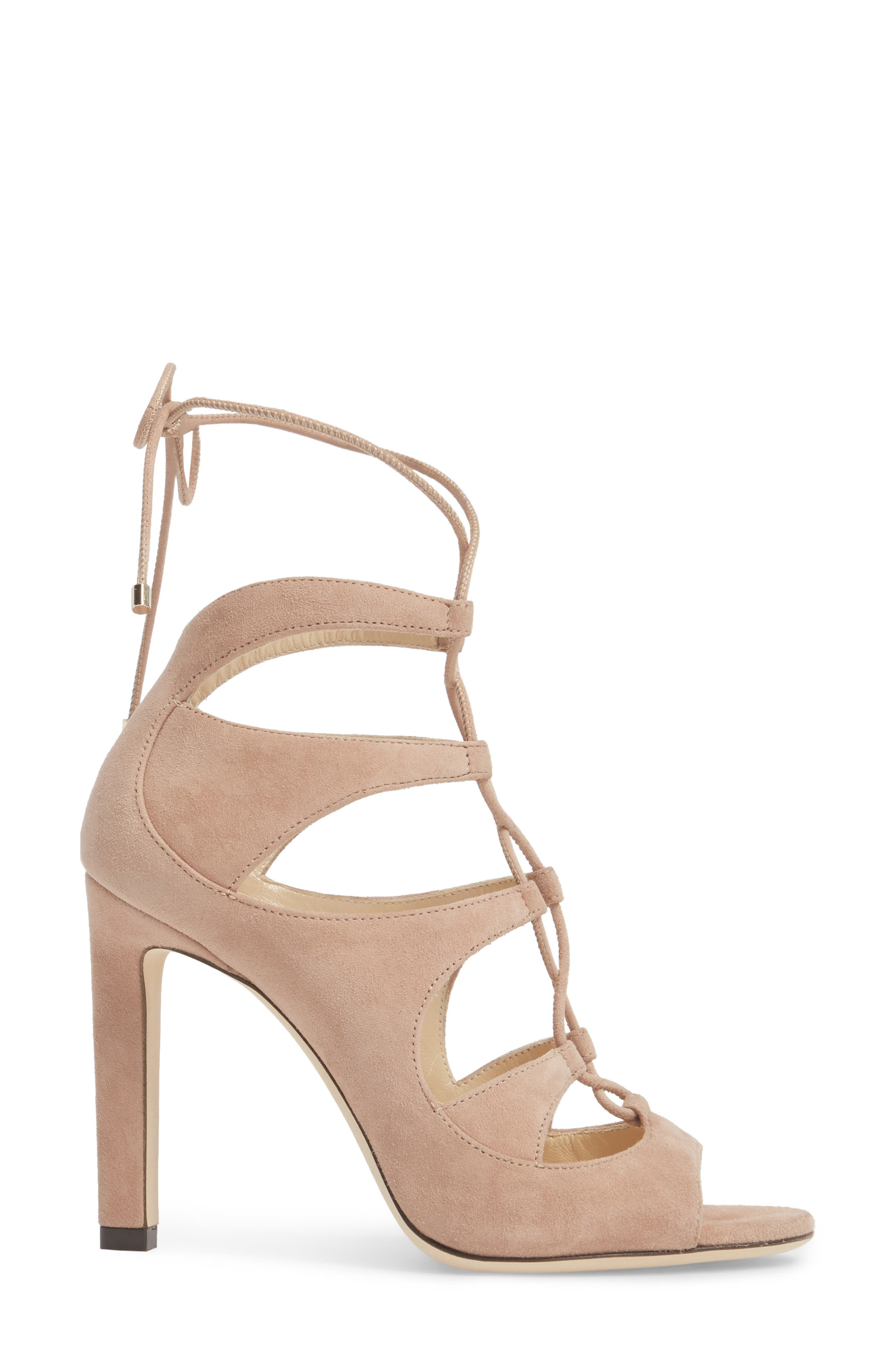 Alternate Image 3  - Jimmy Choo Blake Lace-Up Sandal (Women)