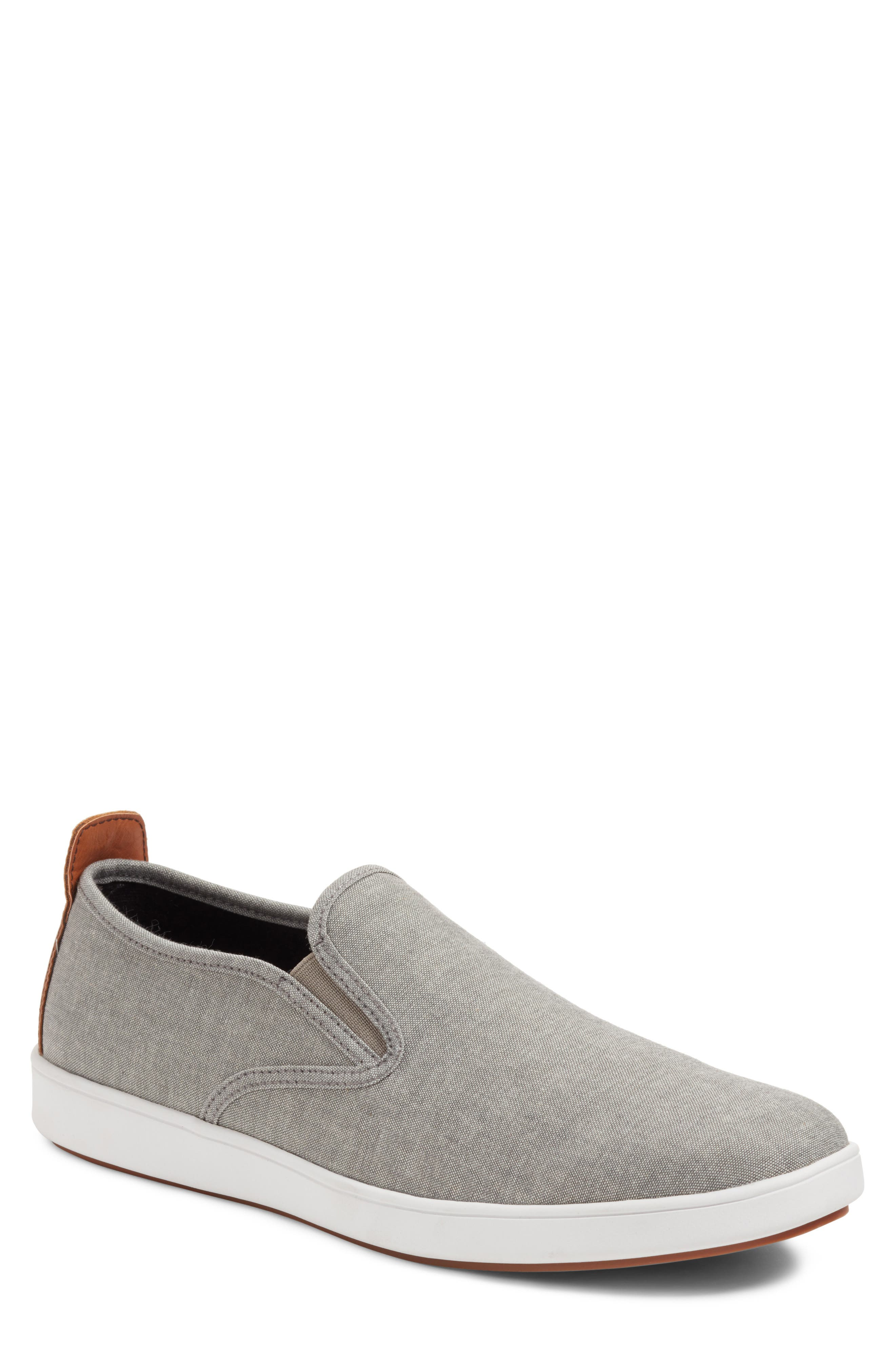 Felix Slip-On Sneaker,                         Main,                         color, Grey