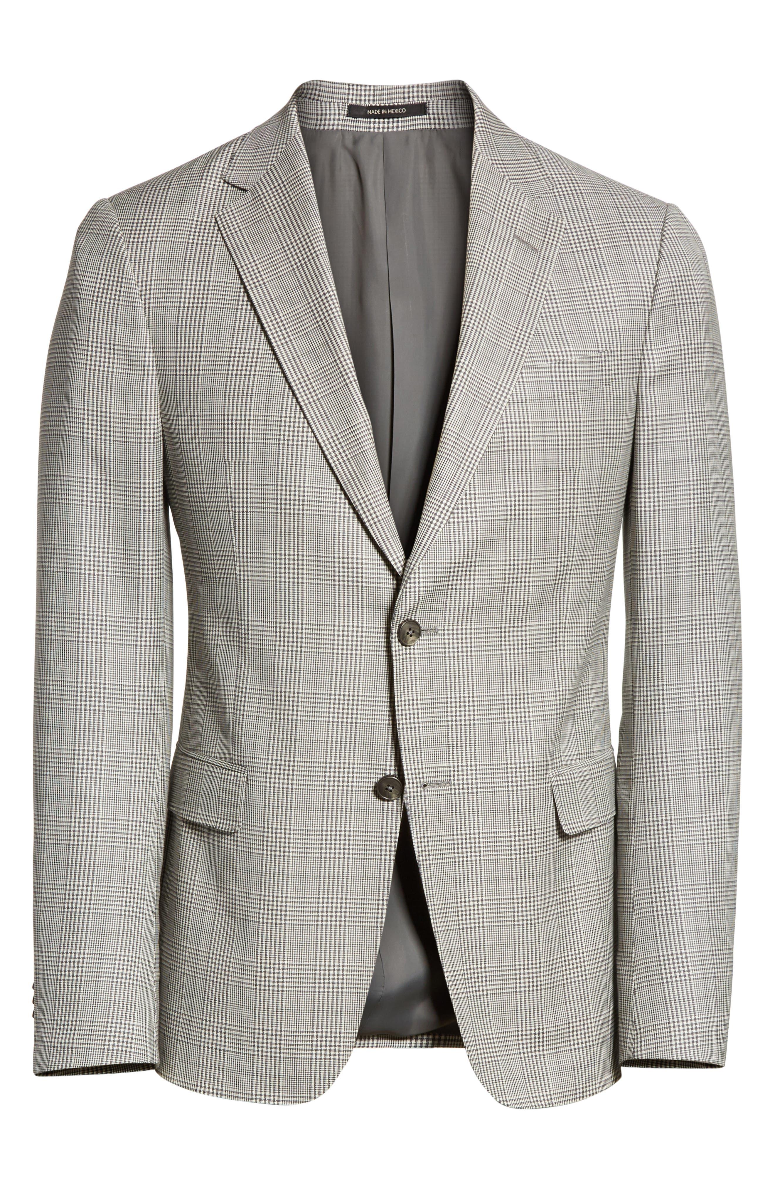 Alternate Image 6  - Z Zegna Classic Fit Plaid Wool Sport Coat