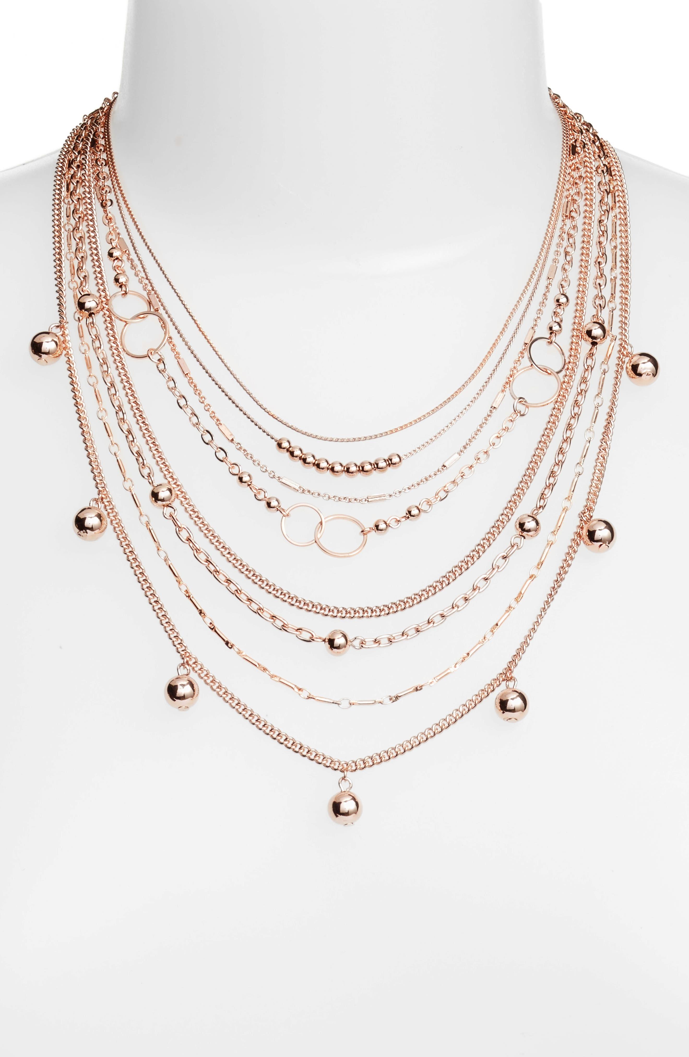 Halogen® Multistrand Necklace