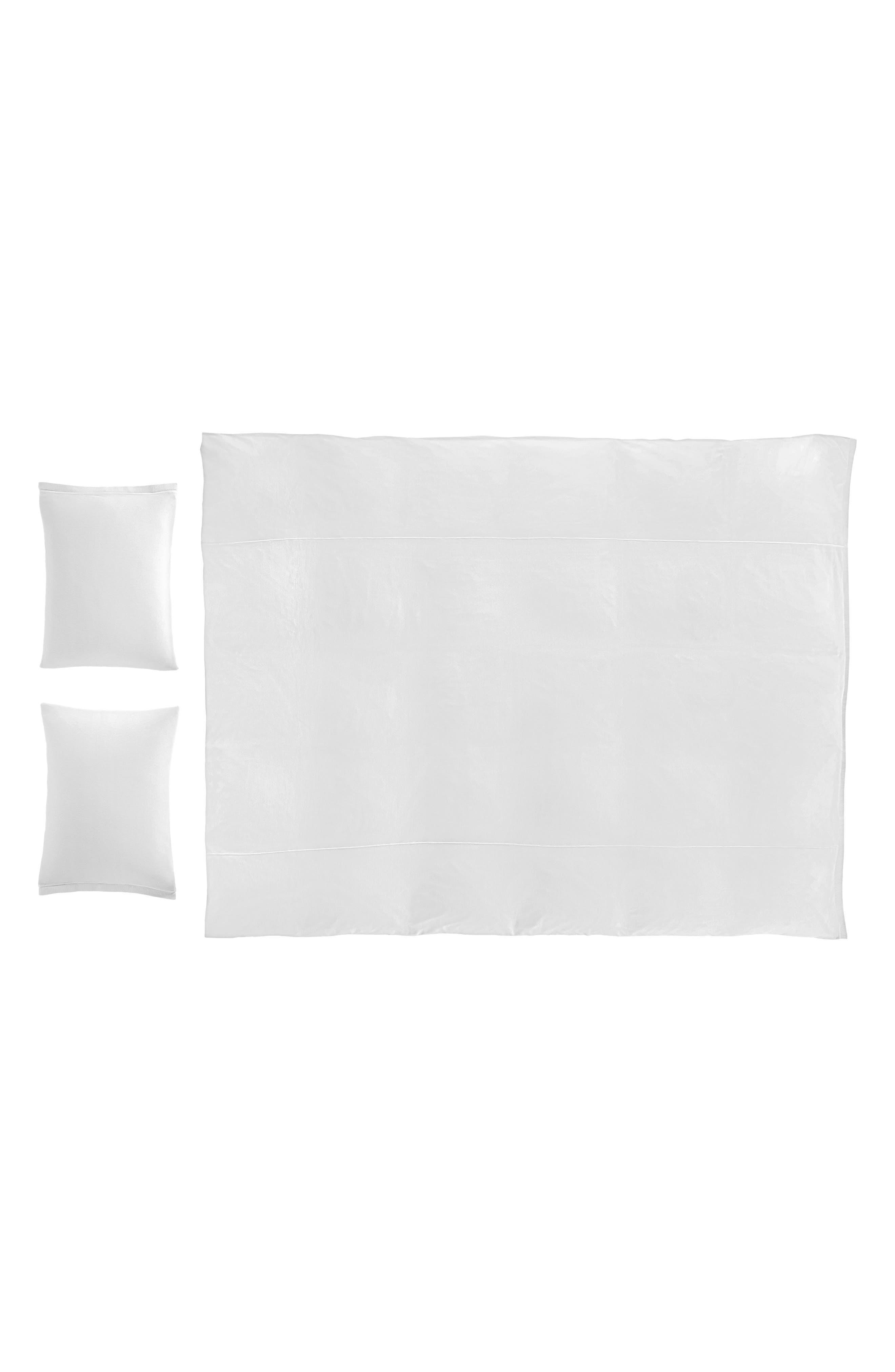 Julian Duvet Cover,                         Main,                         color, White