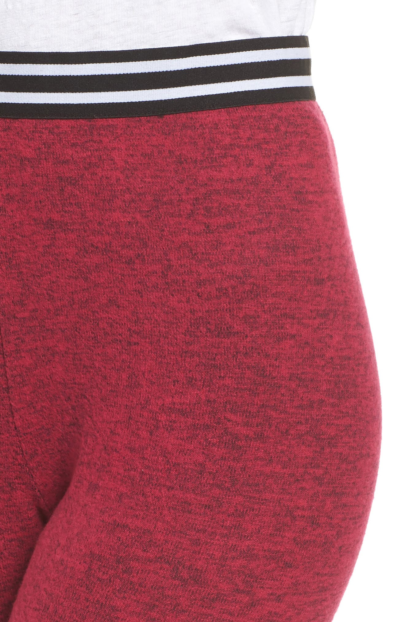 Cuddle Up Lounge Leggings,                             Alternate thumbnail 6, color,                             Pink Vivacious Marl