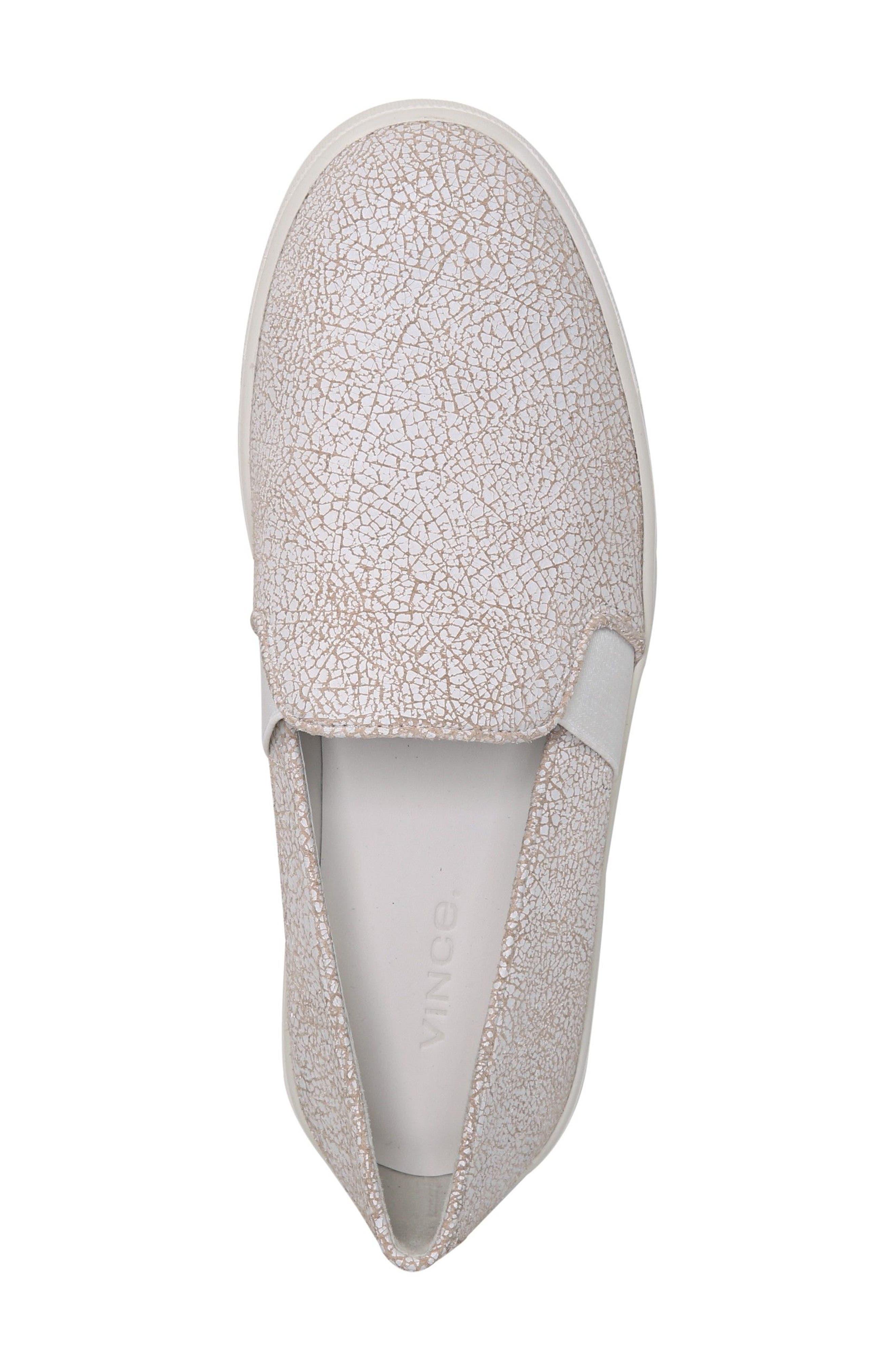 Alternate Image 5  - Vince 'Blair 12' Leather Slip-On Sneaker (Women)