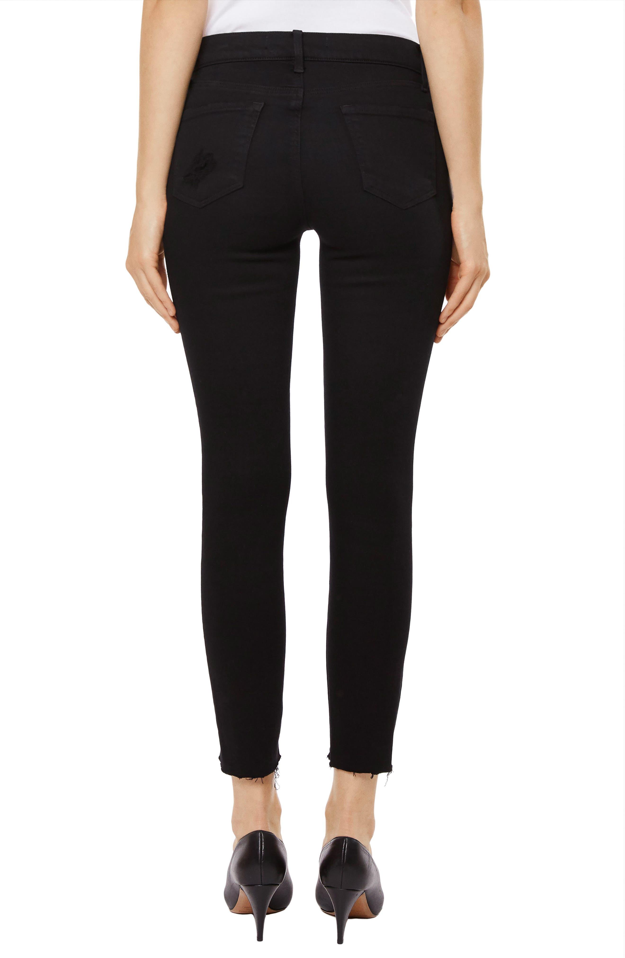 835 Capri Skinny Jeans,                             Alternate thumbnail 2, color,                             Overexposure
