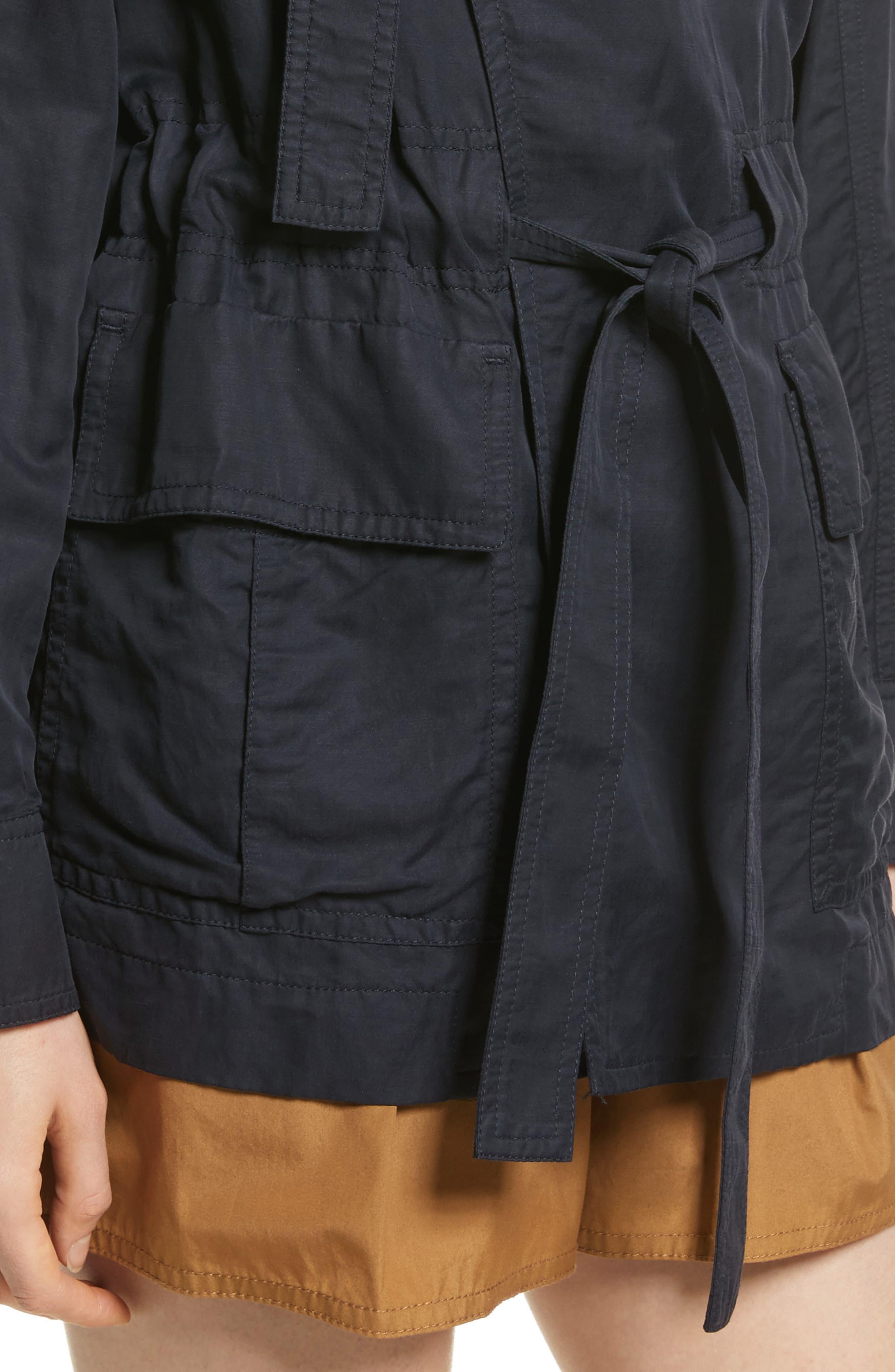 Drapey Jacket,                             Alternate thumbnail 4, color,                             Coastal