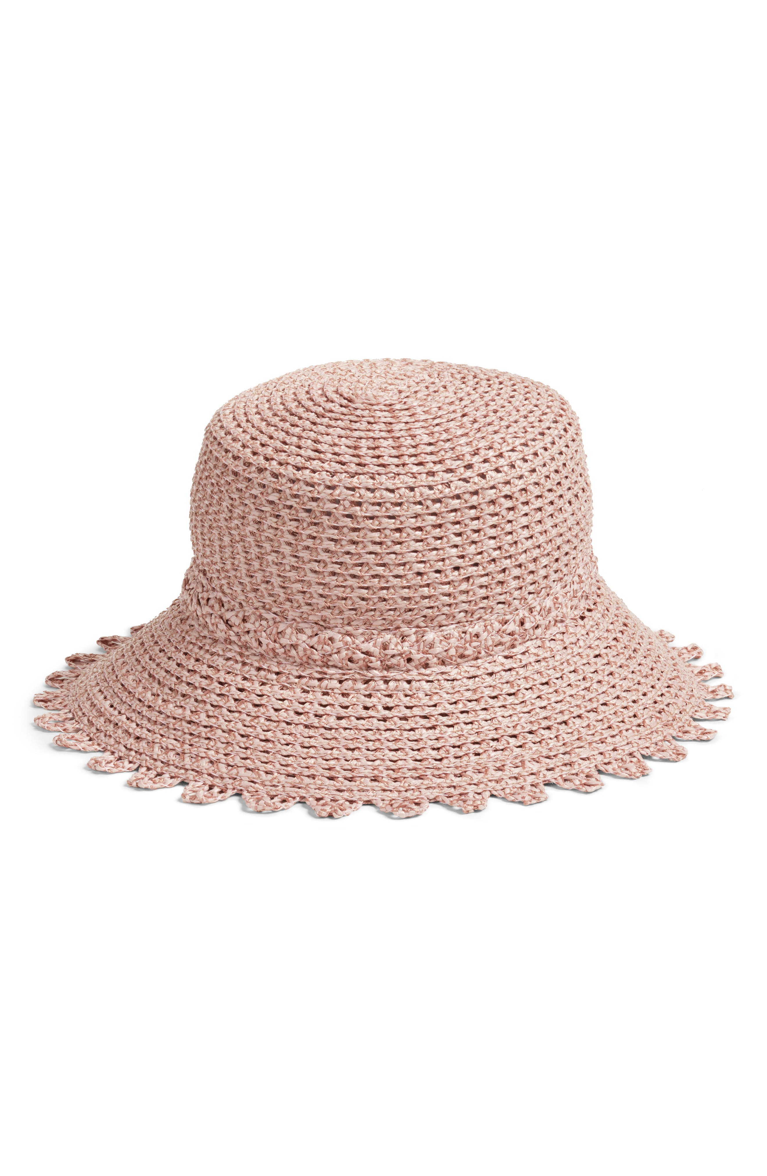 IBIZA SQUISHEE BUCKET HAT - PINK