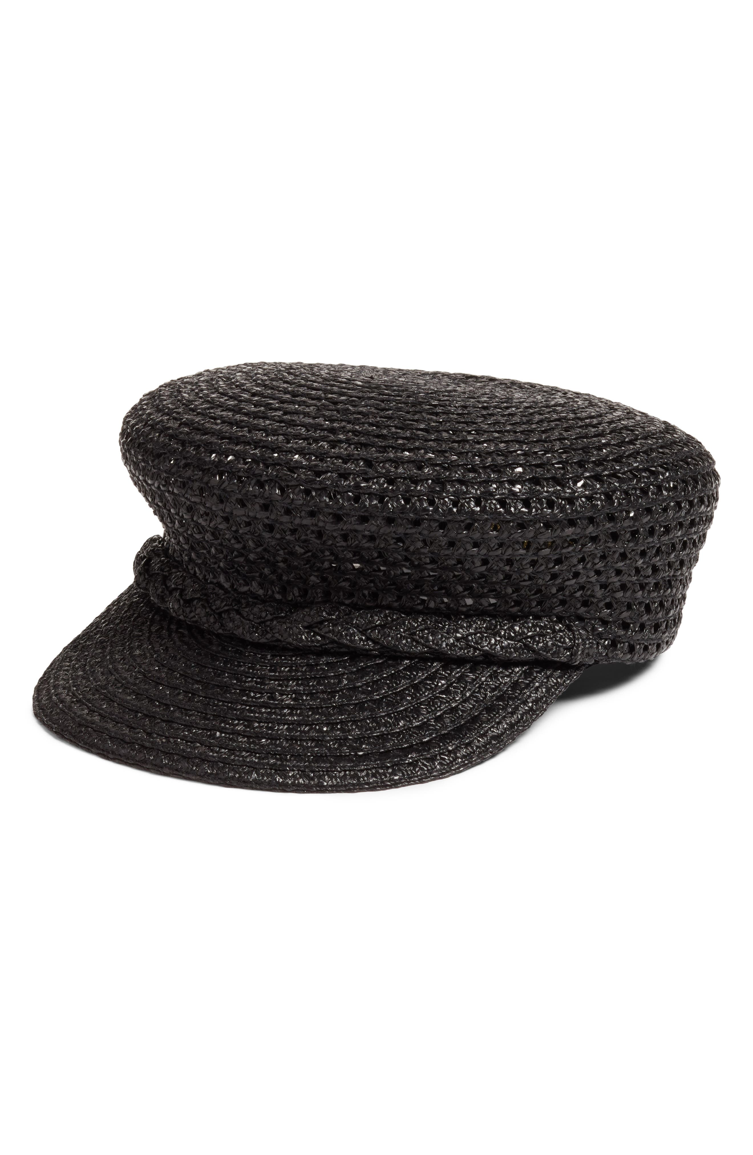 CAPITAN SQUISHEE CAP - BLACK