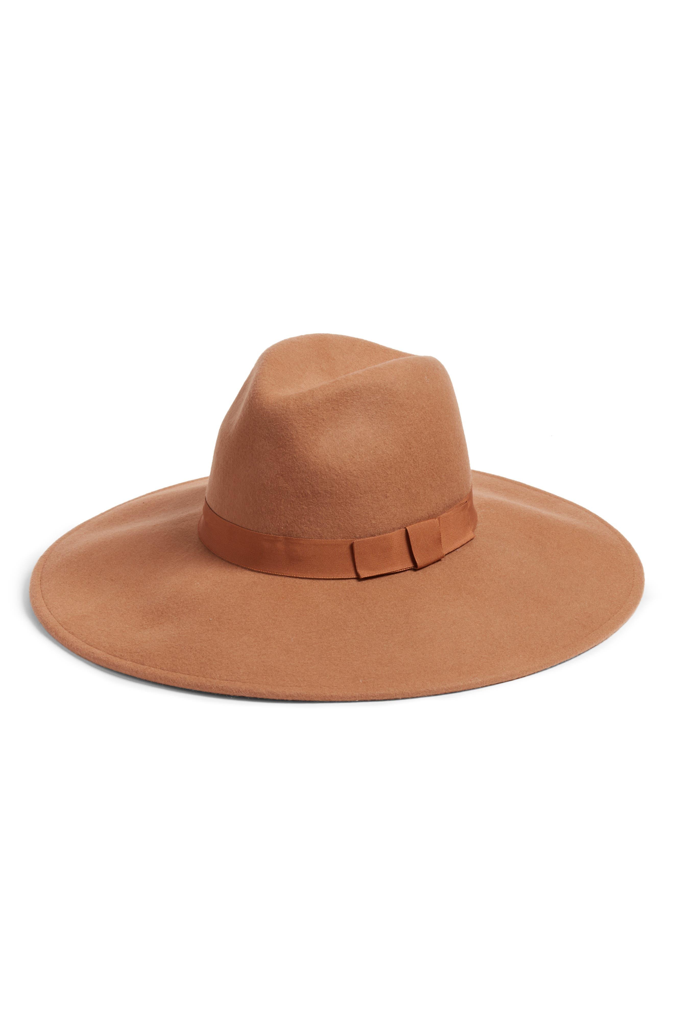 Kitsch Wide Brim Felt Panama Hat
