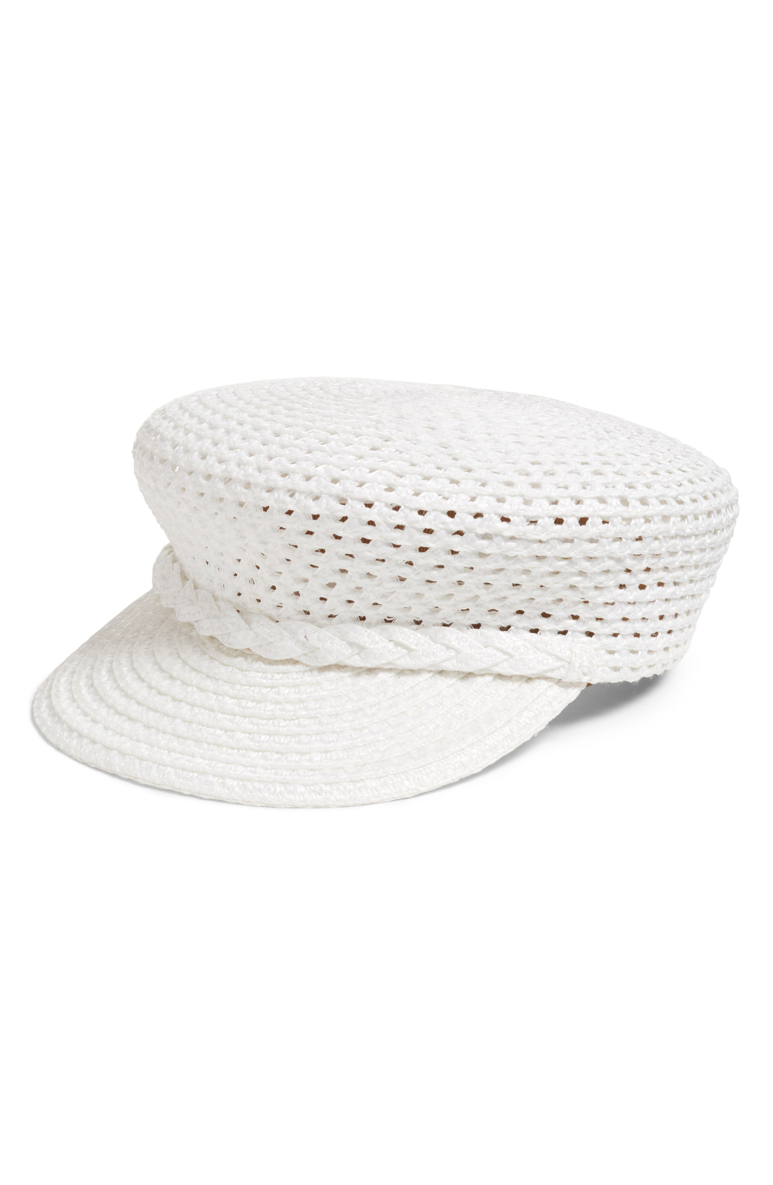 CAPITAN SQUISHEE CAP - WHITE