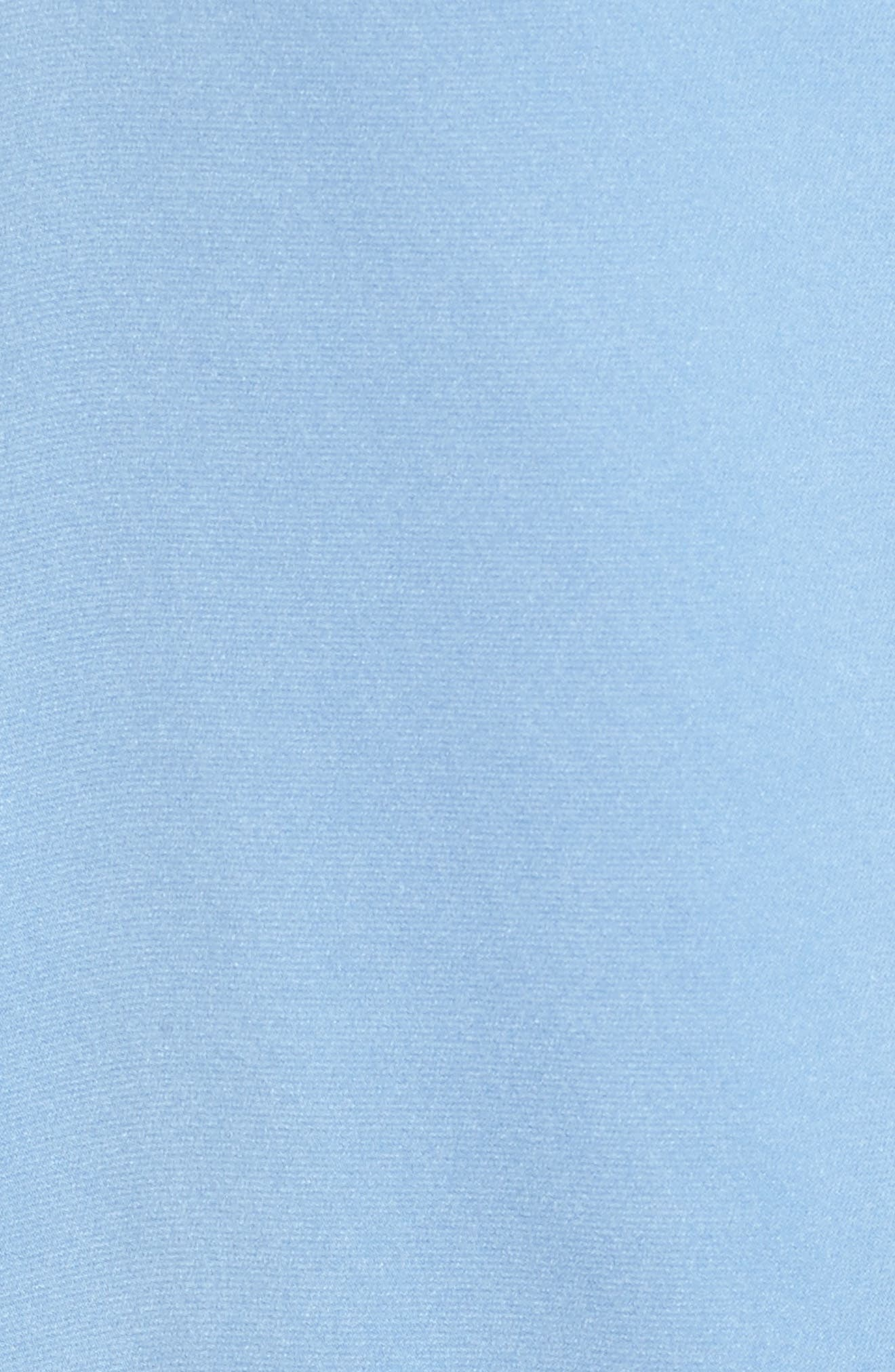 Banorana Stretch Silk Blouse,                             Alternate thumbnail 5, color,                             Blue Sky