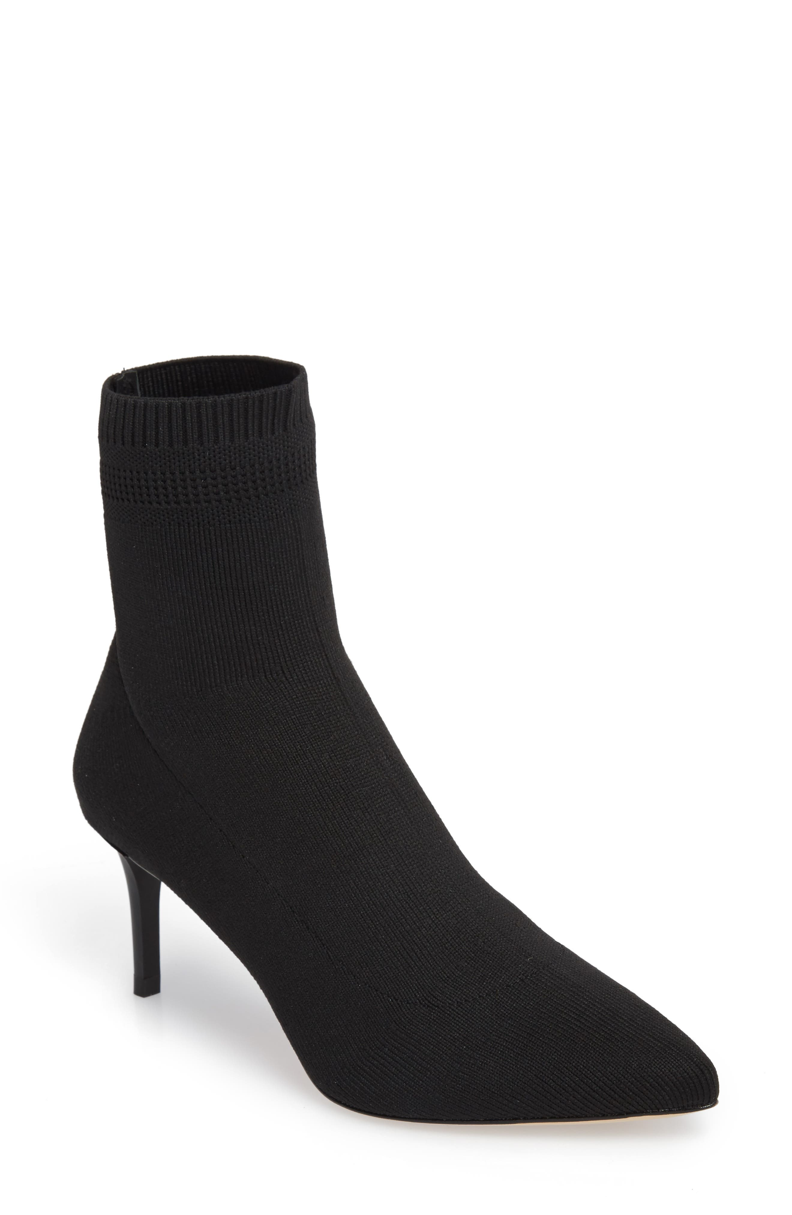Daphne Bootie,                             Main thumbnail 1, color,                             Black