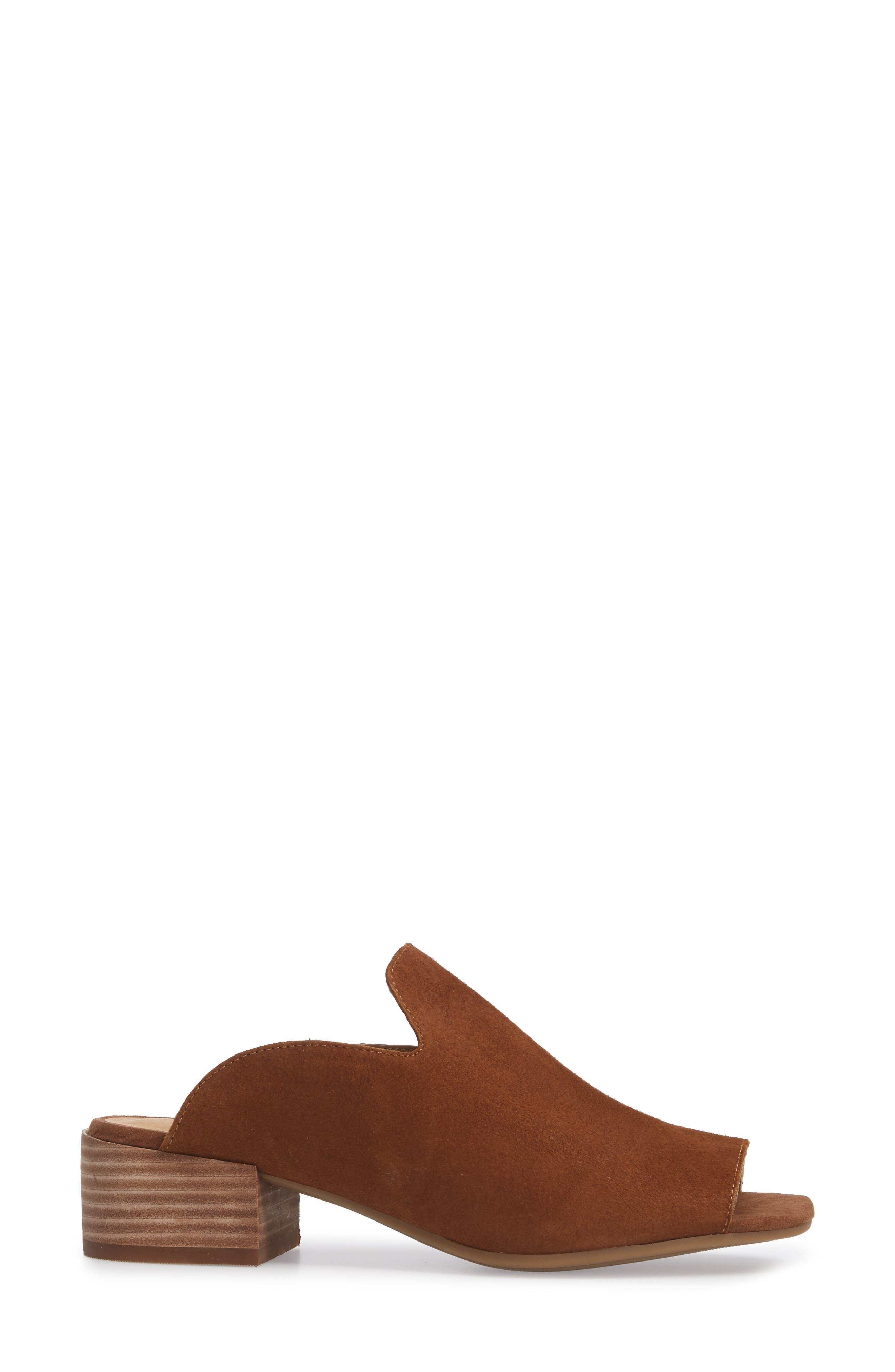 Noomrie Sandal,                             Alternate thumbnail 3, color,                             Cedar Leather