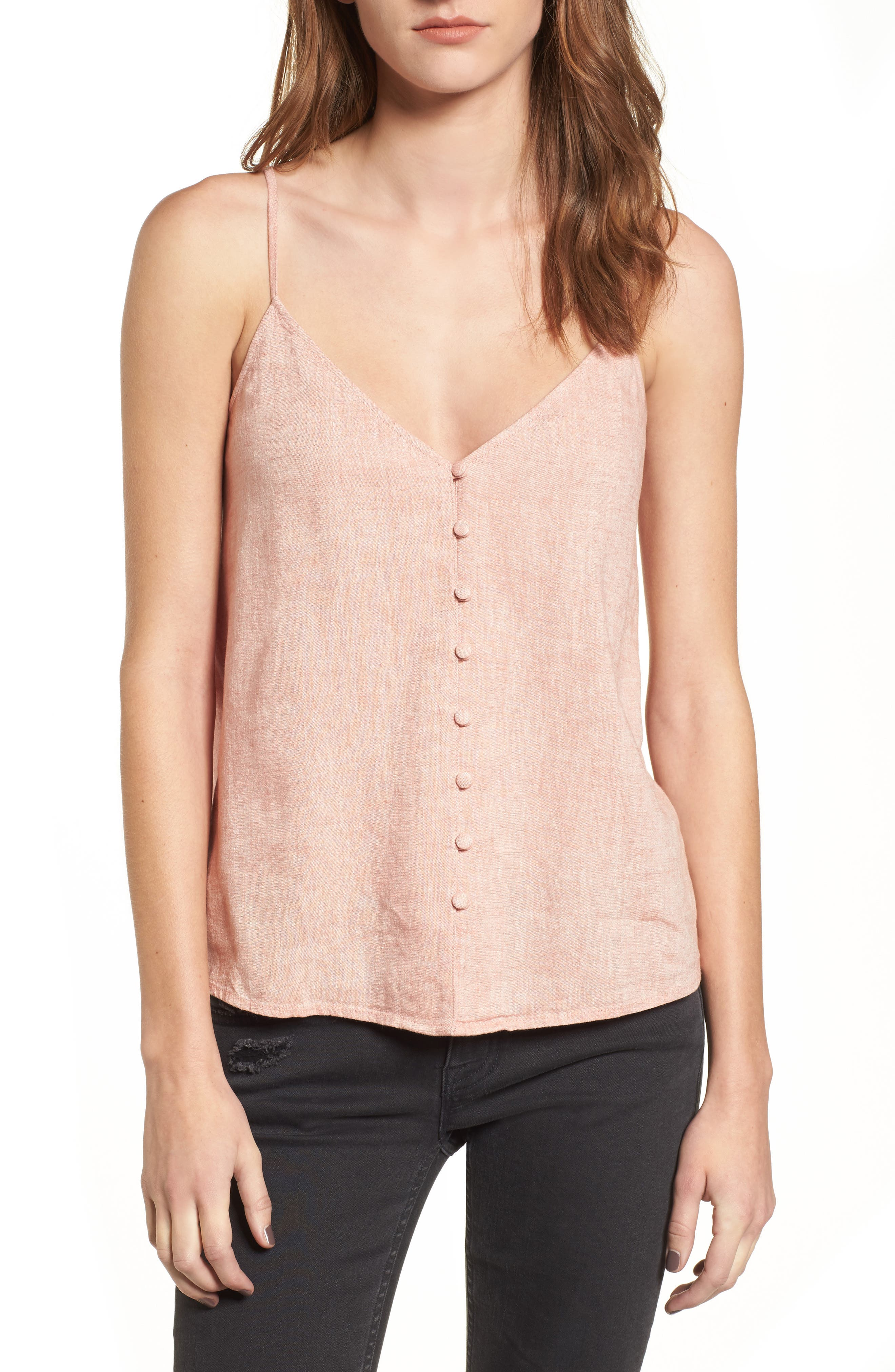 BP. Button Front Camisole