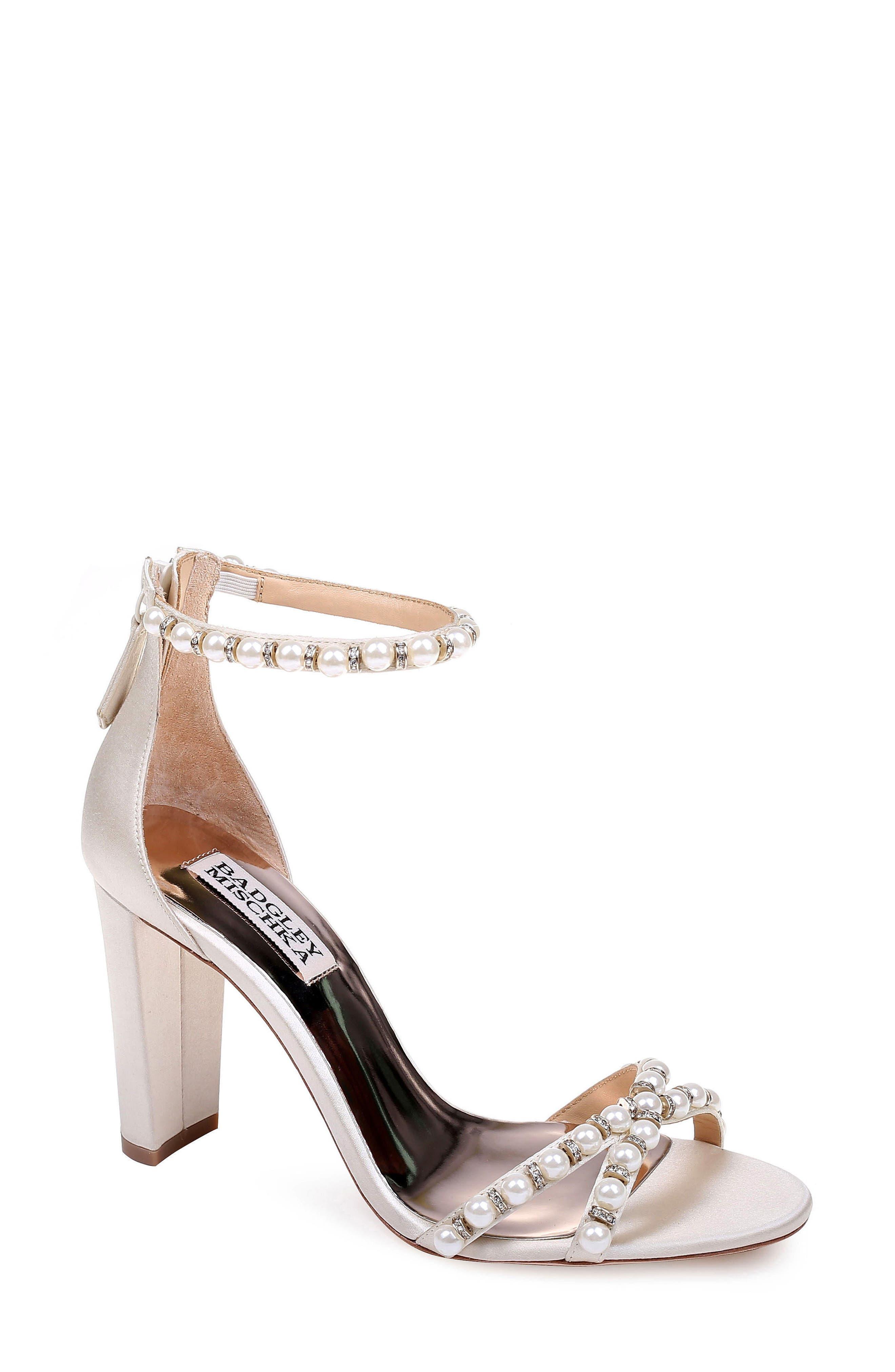 Badgley Mischka Hooper Ankle Strap Sandal (Women)