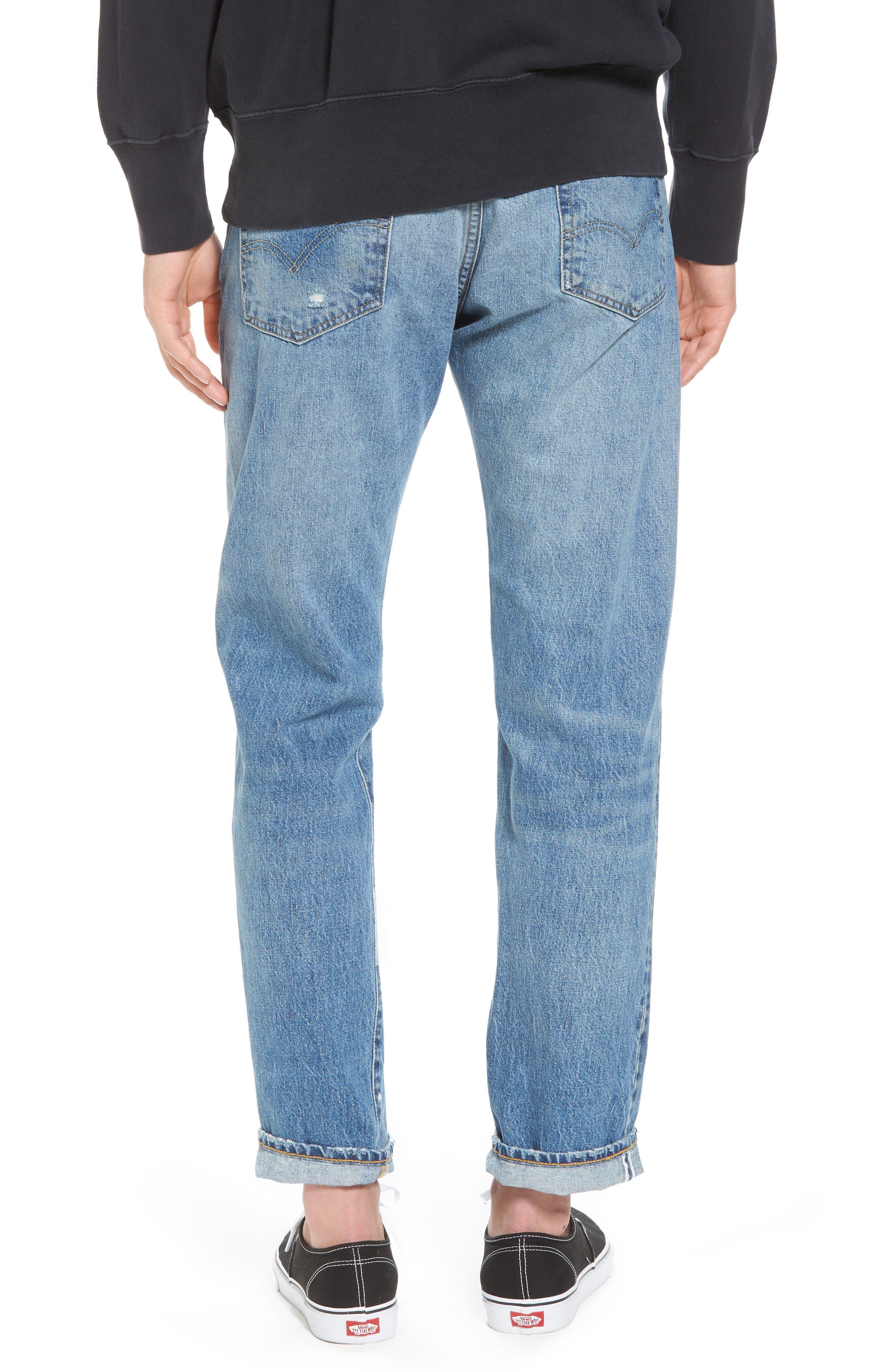 1954 501<sup>®</sup> Tapered Leg Jeans,                             Alternate thumbnail 2, color,                             Baja Surf