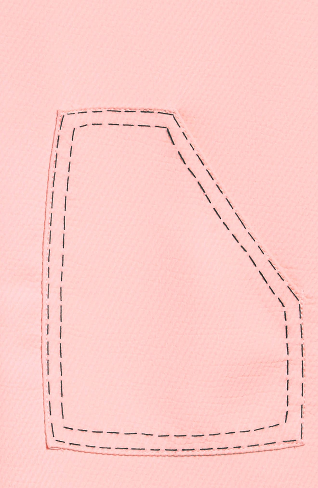 Mod Sleeveless Shift Dress,                             Alternate thumbnail 3, color,                             Pink