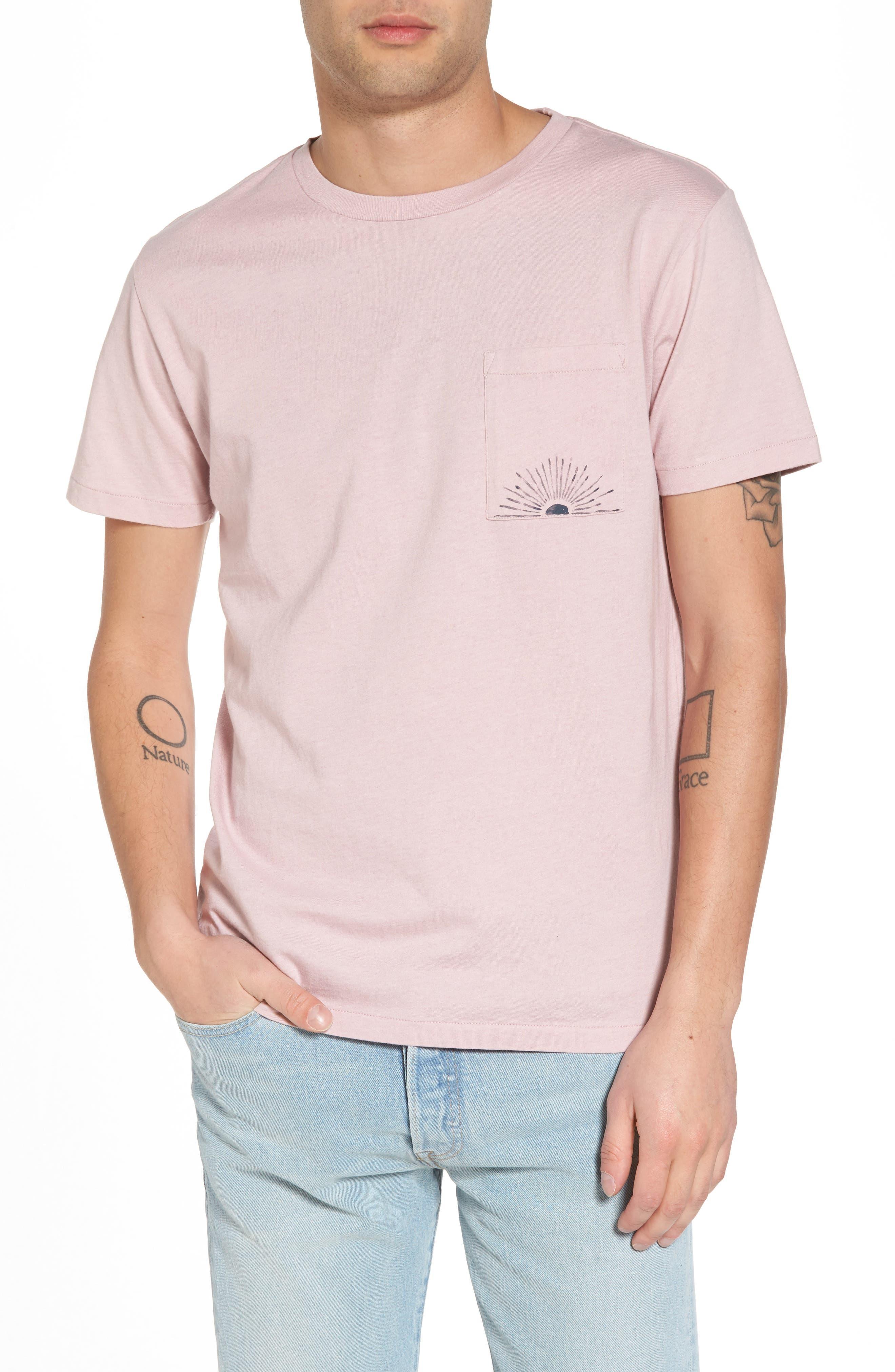 Logo Graphic Pocket T-Shirt,                         Main,                         color, Retro Logo White
