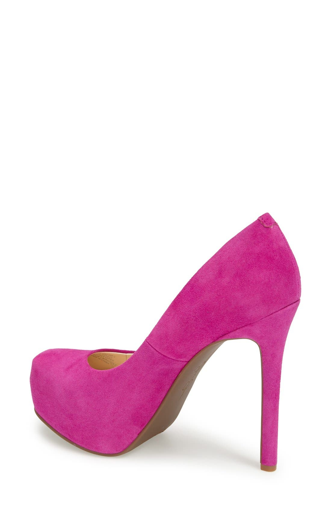 'Rebeca' Platform Pump,                             Alternate thumbnail 2, color,                             Spring Magenta