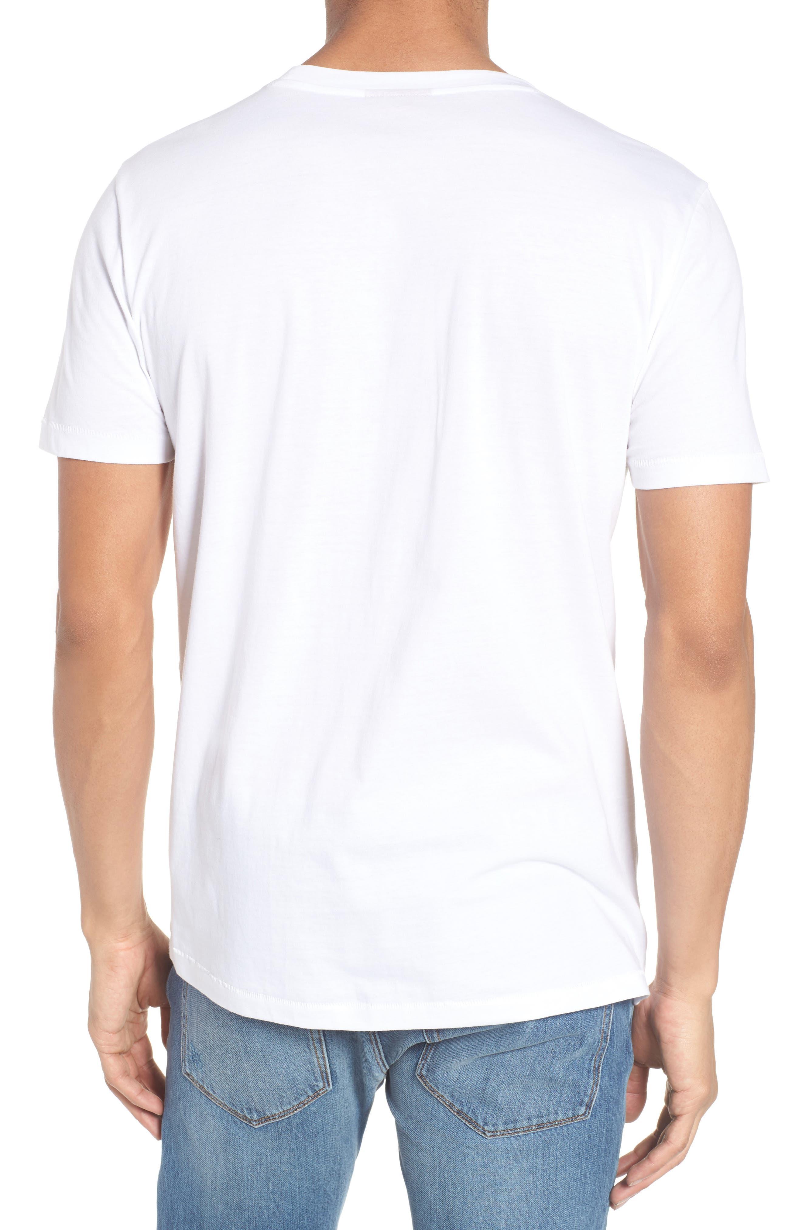 Alternate Image 2  - HUGO Duda Graphic T-Shirt