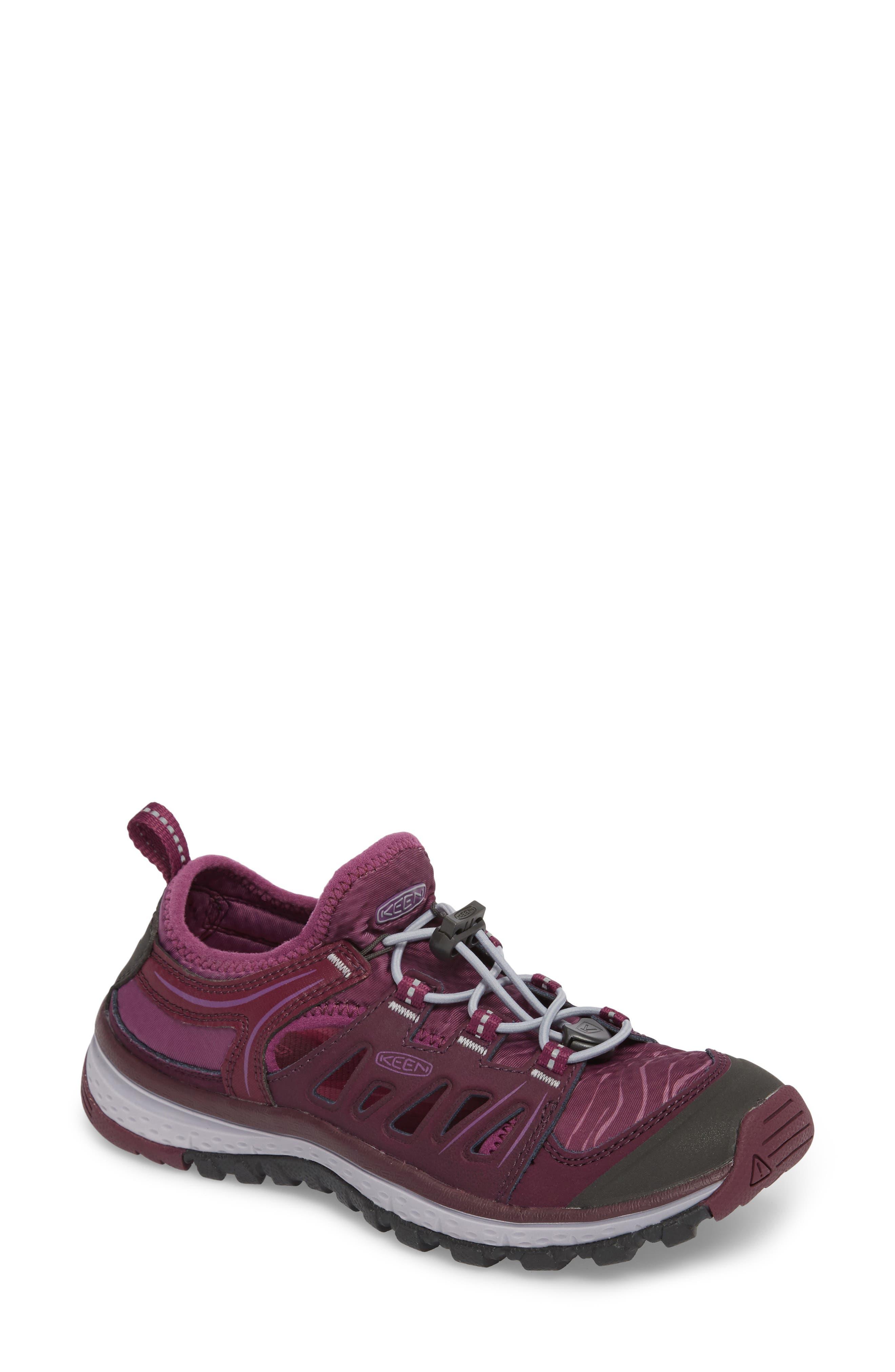 Terradora Ethos Hiking Sneaker,                         Main,                         color, Grape Wine/ Grape Kiss