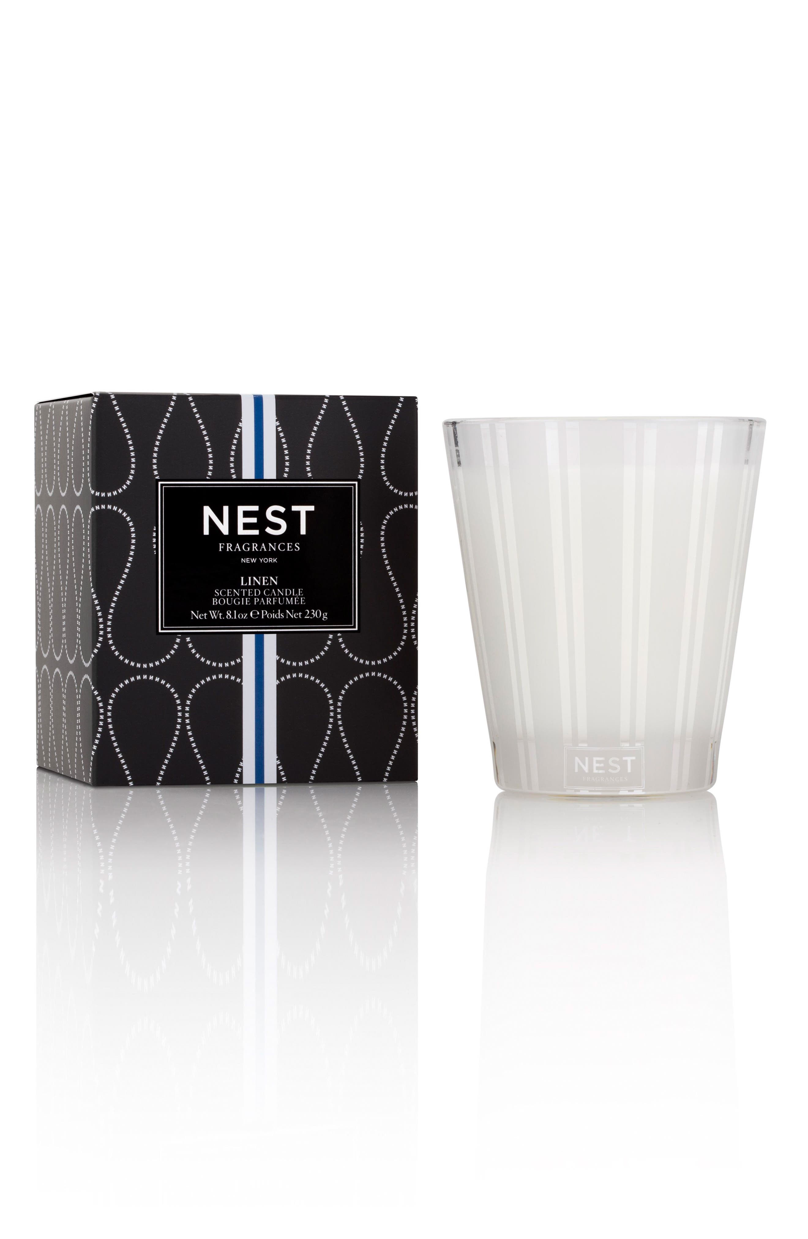 Alternate Image 1 Selected - NEST Fragrances Linen Classic Candle