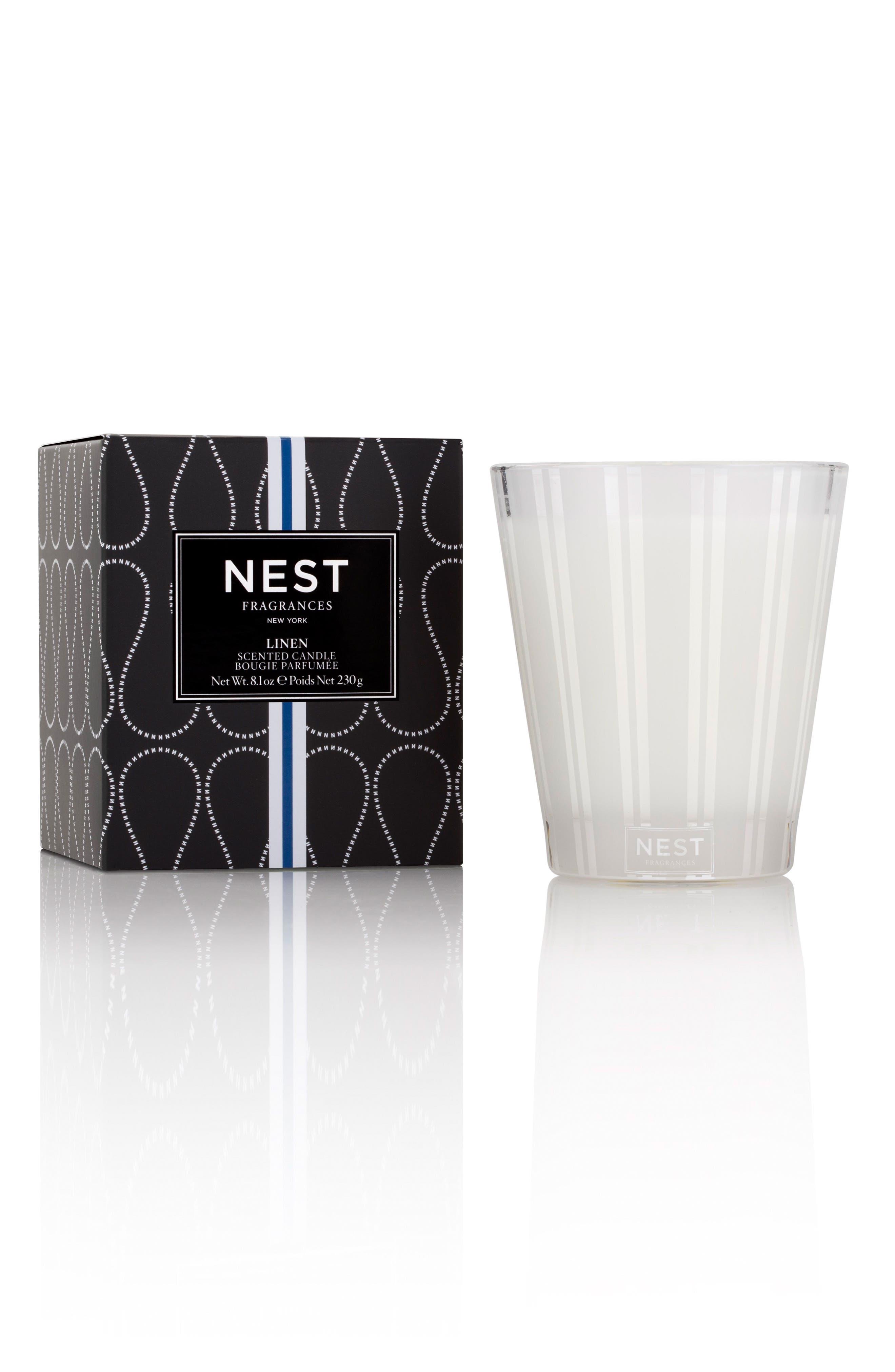 Main Image - NEST Fragrances Linen Classic Candle