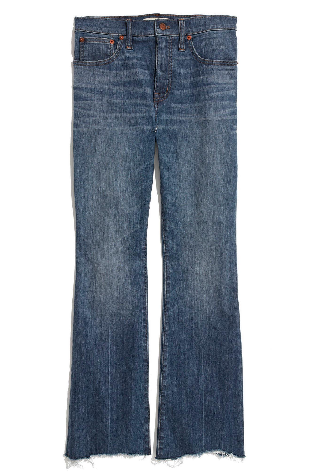 Cali Demi Boot Jeans,                             Alternate thumbnail 4, color,                             Haywood Wash
