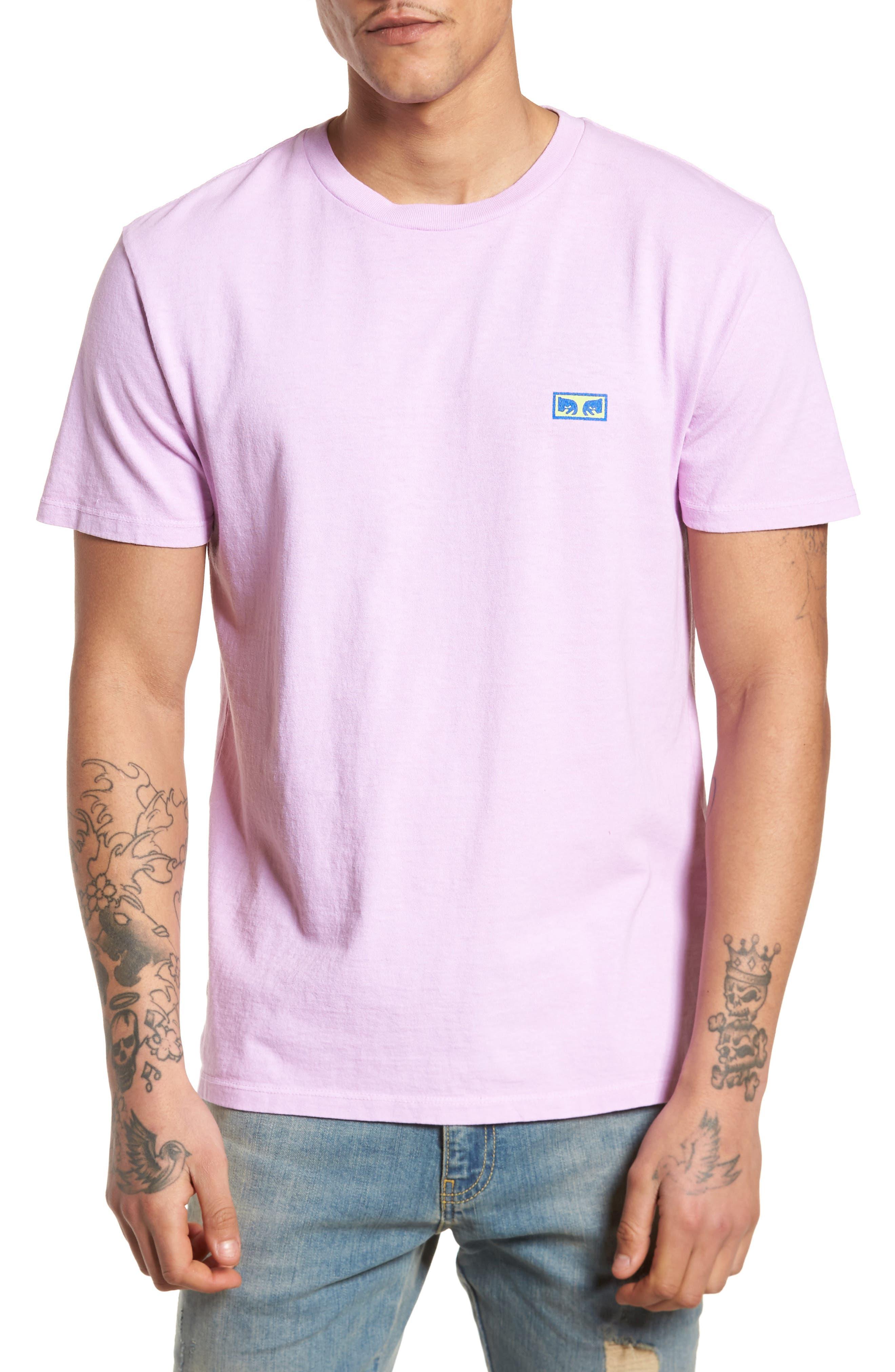 Flashback Pigment Dyed T-Shirt,                             Main thumbnail 1, color,                             Dusty Lavender