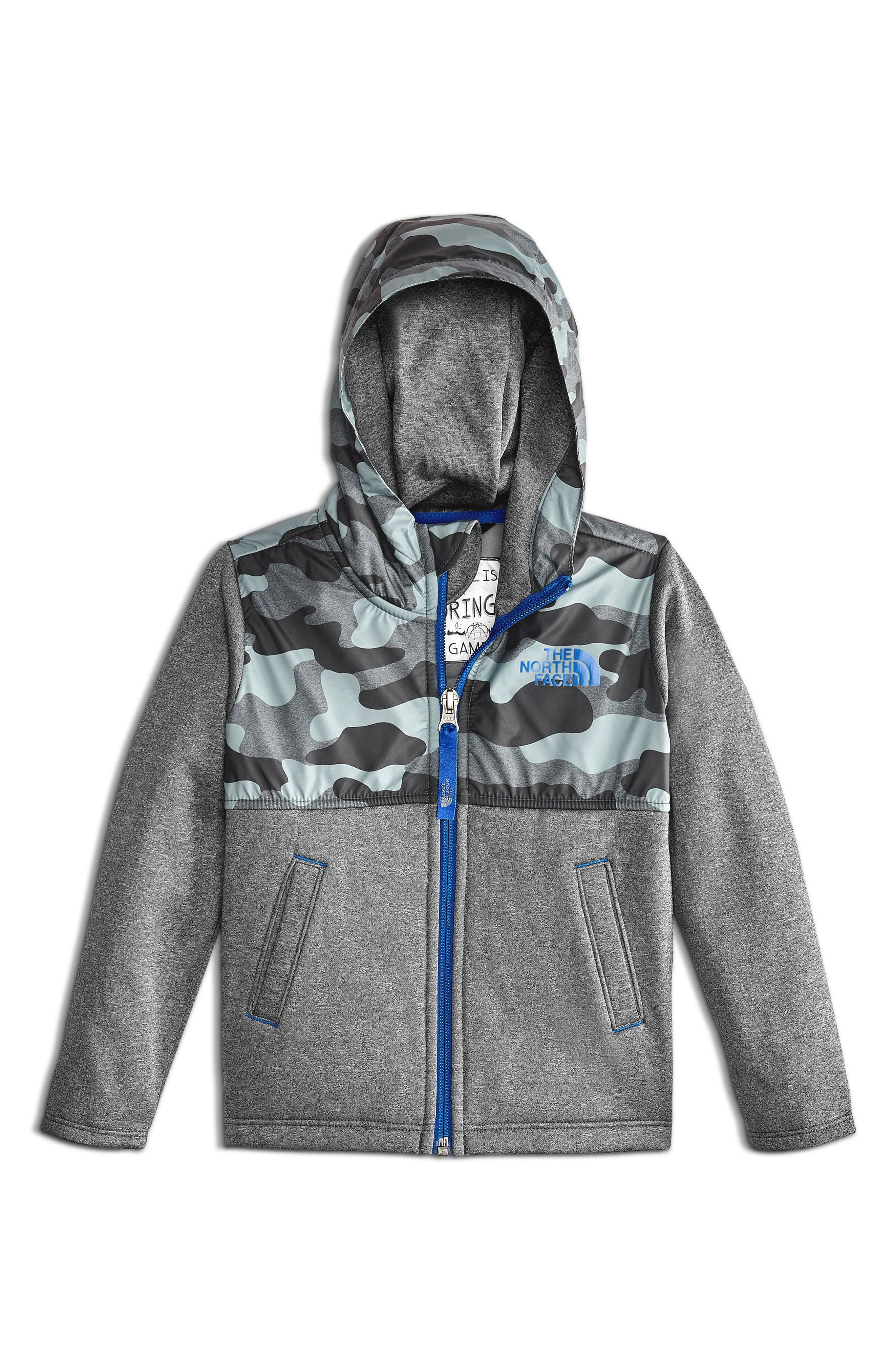 Main Image - The North Face Kickin' it Zip Hoodie (Toddler Boys & Little Boys)