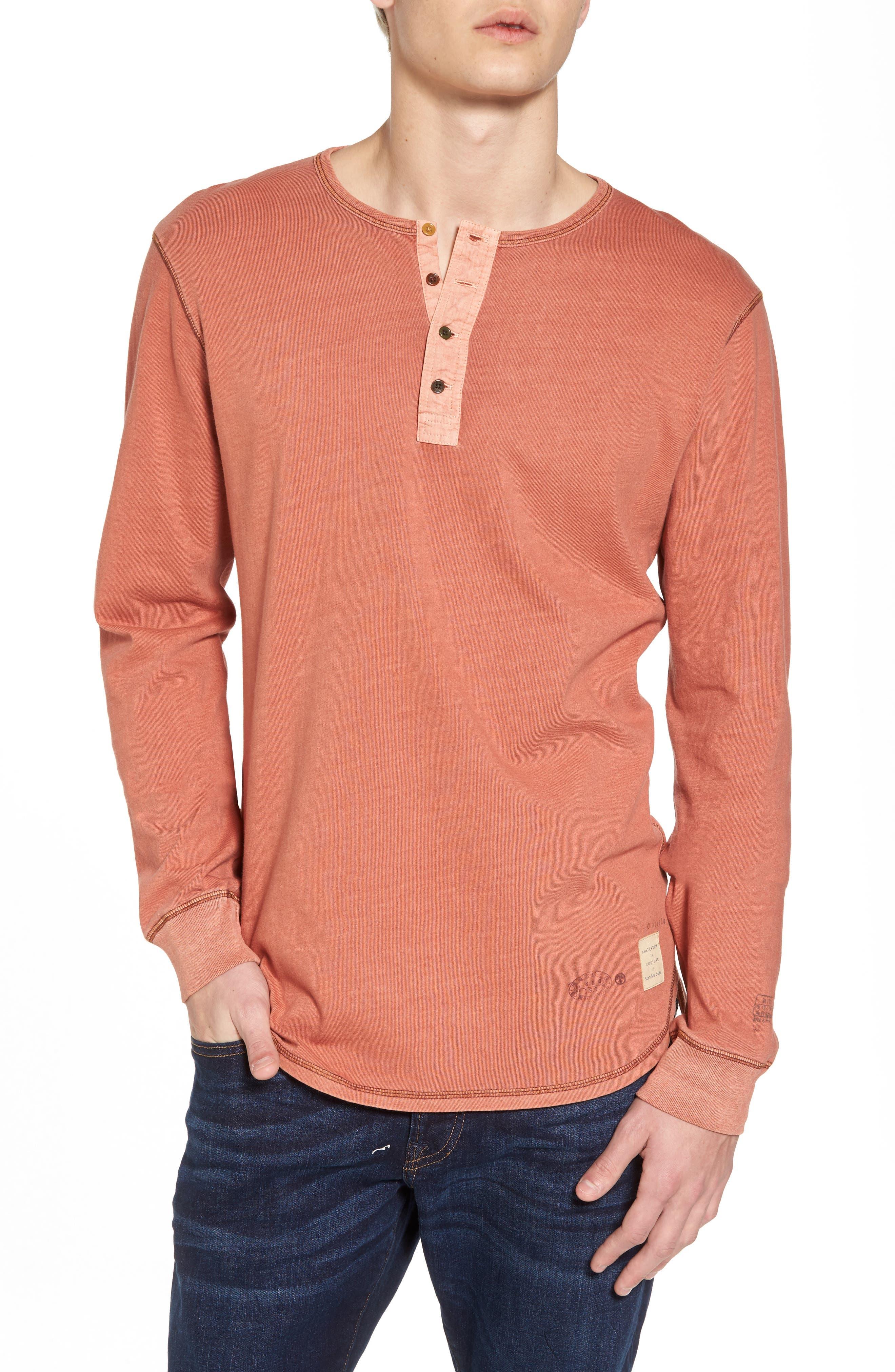 Granddad T Shirt by Scotch & Soda