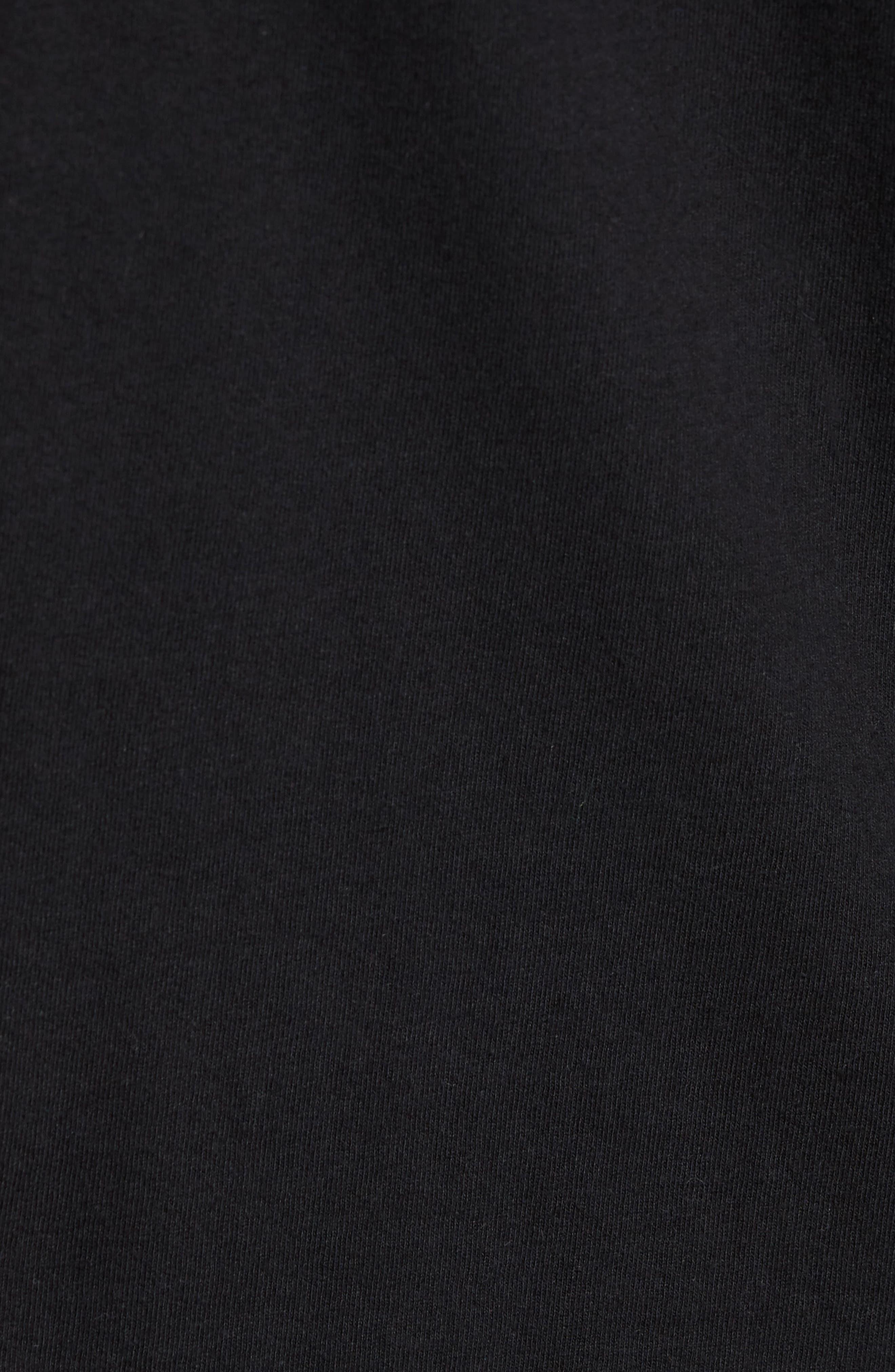 Borstal T-Shirt,                             Alternate thumbnail 5, color,                             Black