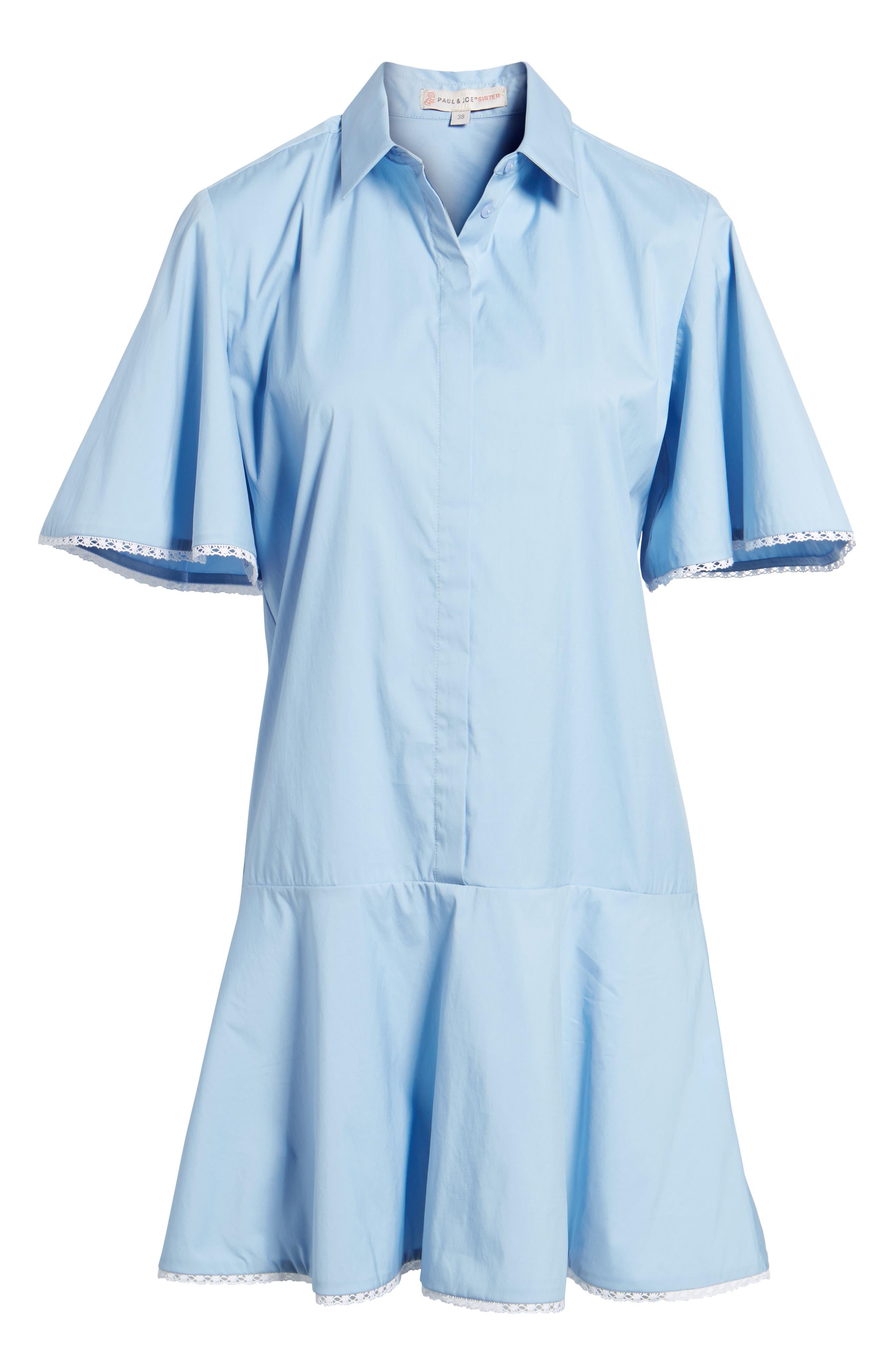 Baby Dress,                             Alternate thumbnail 6, color,                             Blue