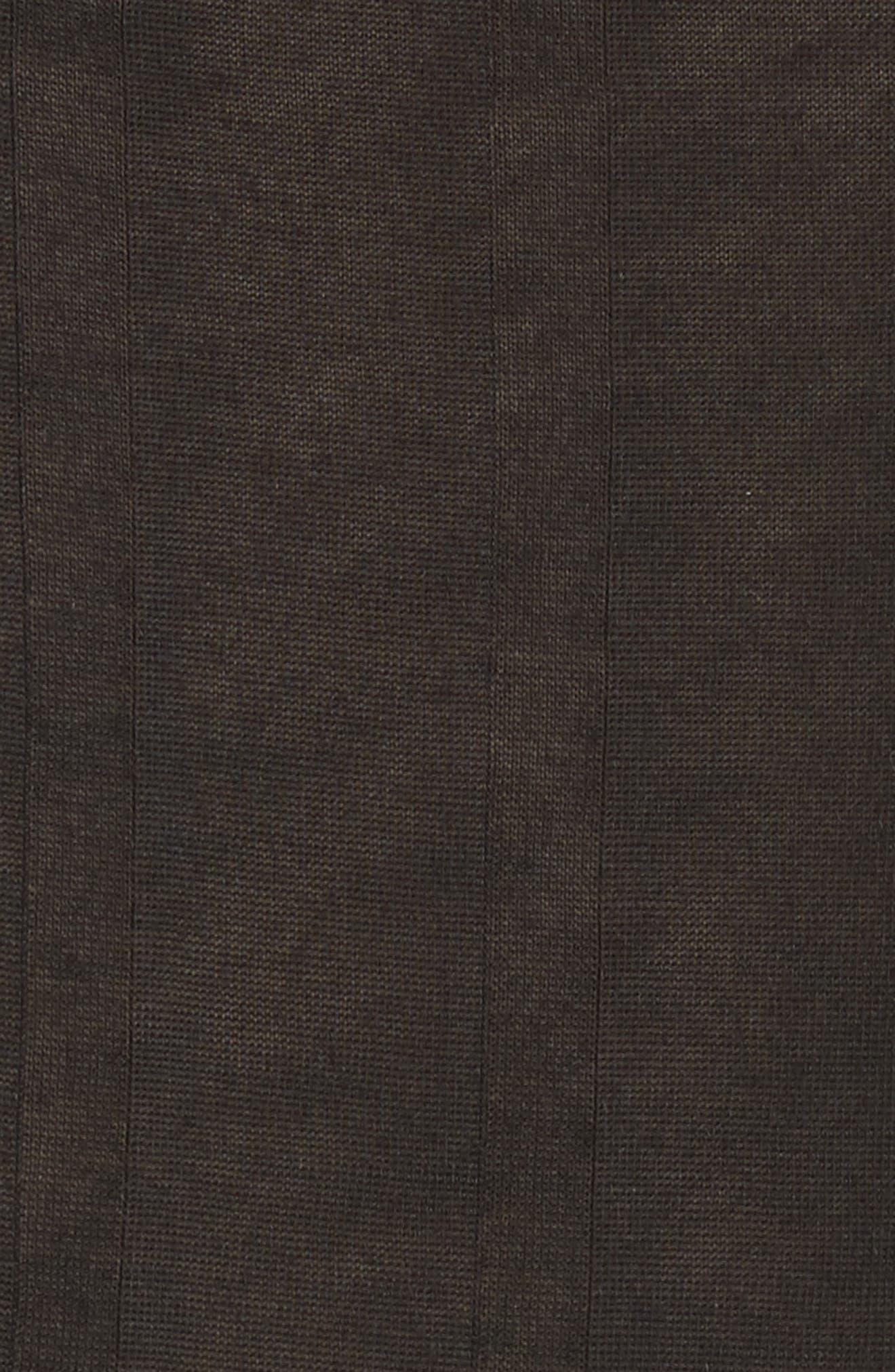 Montrose V-Neck Muscle Tee,                             Alternate thumbnail 5, color,                             Black