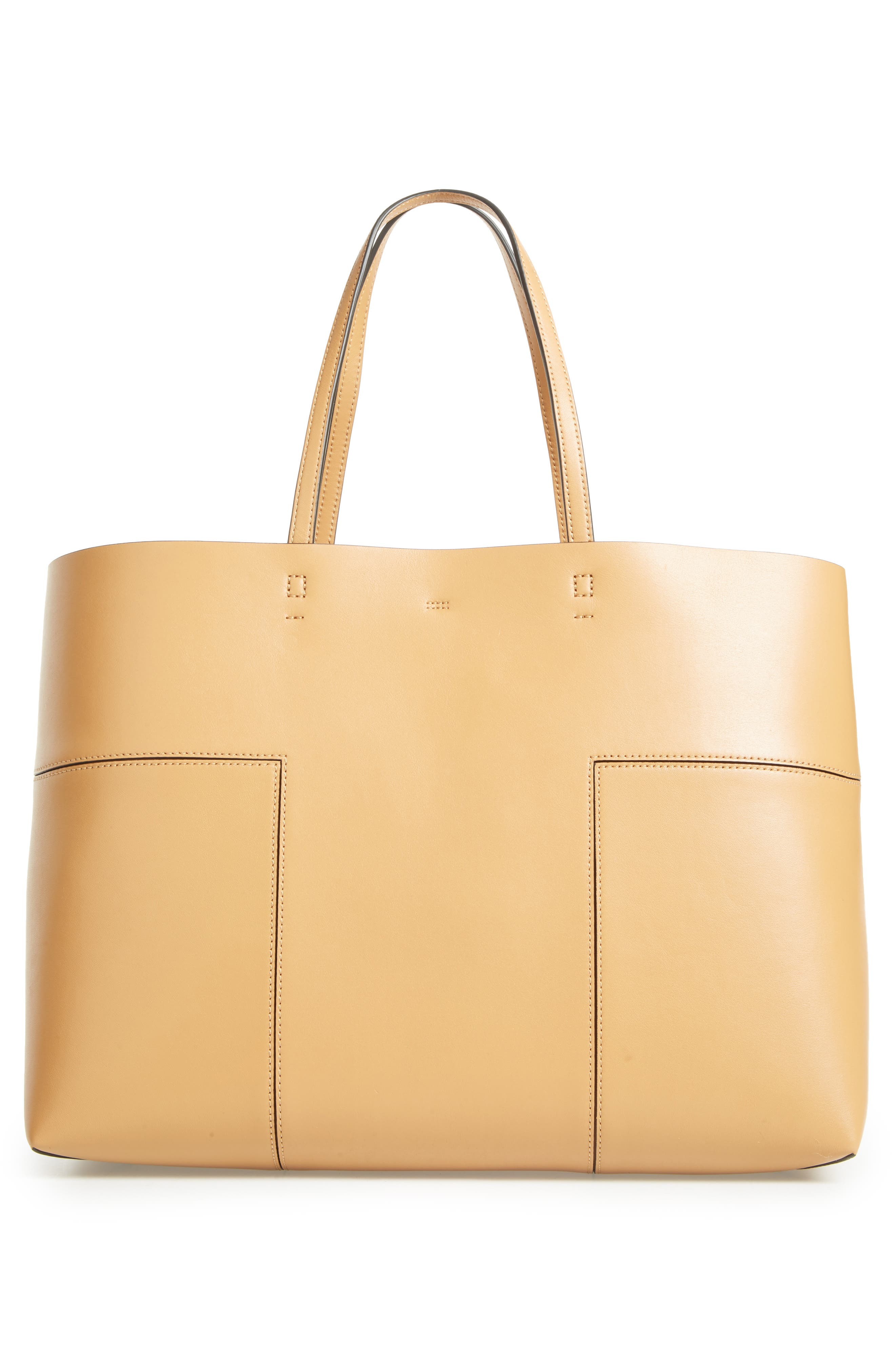 Alternate Image 3  - Tory Burch 'Block-T' Leather Tote