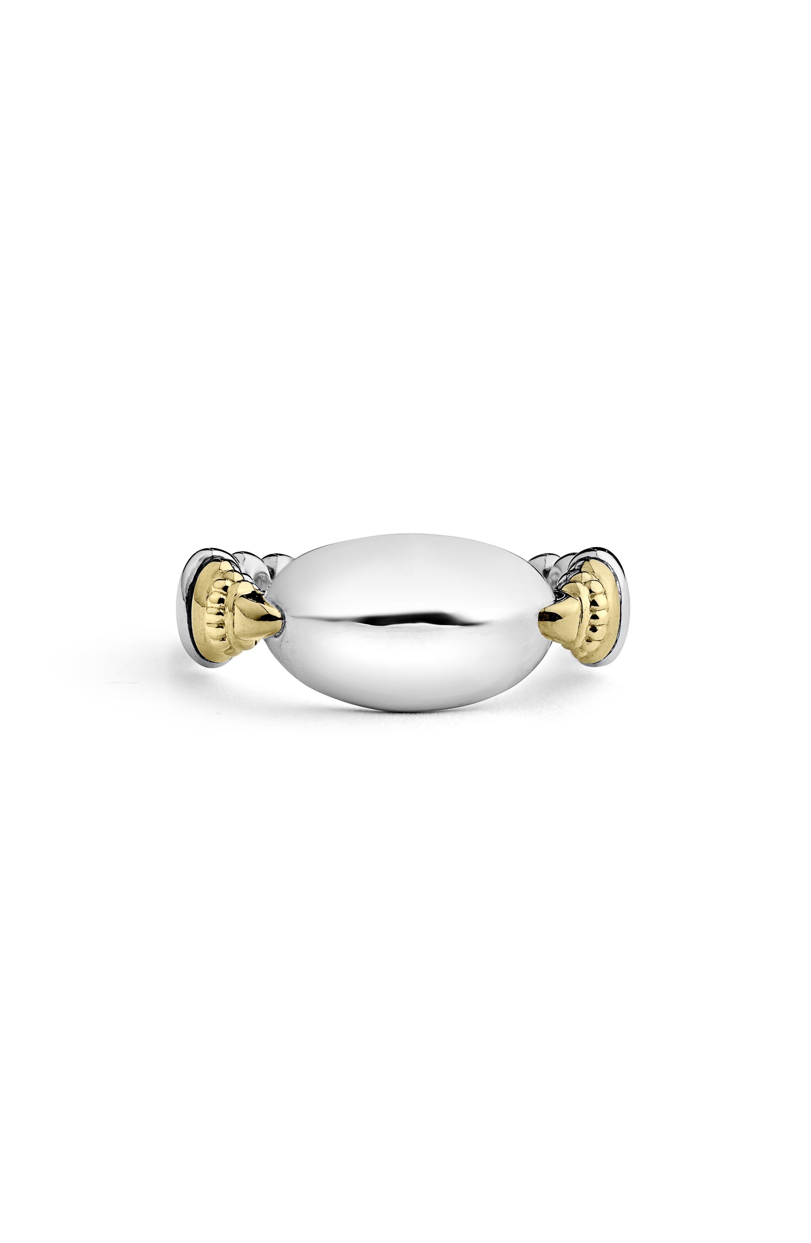 LAGOS Beloved Ellipse Ring