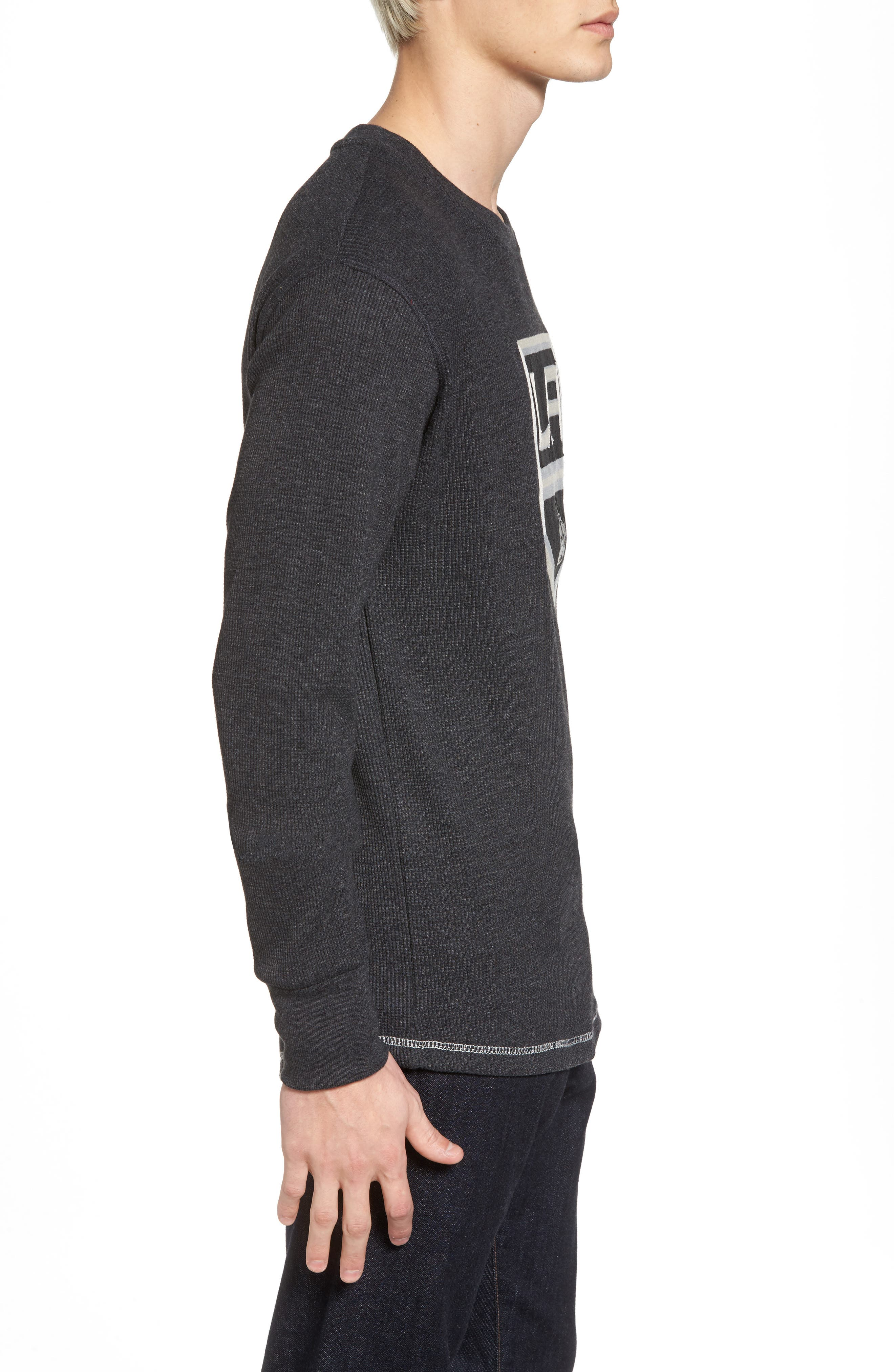 Alternate Image 3  - American Needle Los Angeles Kings Embroidered Long Sleeve Thermal Shirt