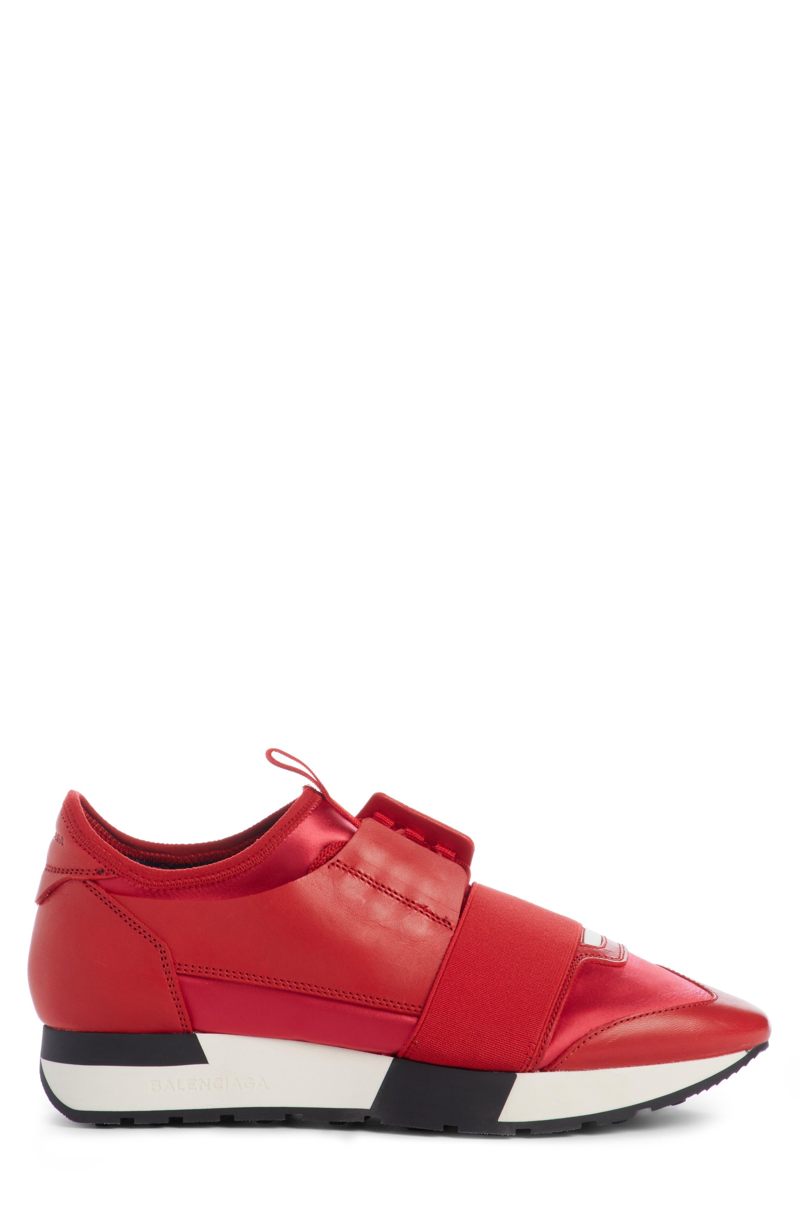 Alternate Image 3  - Balenciaga Mixed Media Trainer Sneaker (Women)