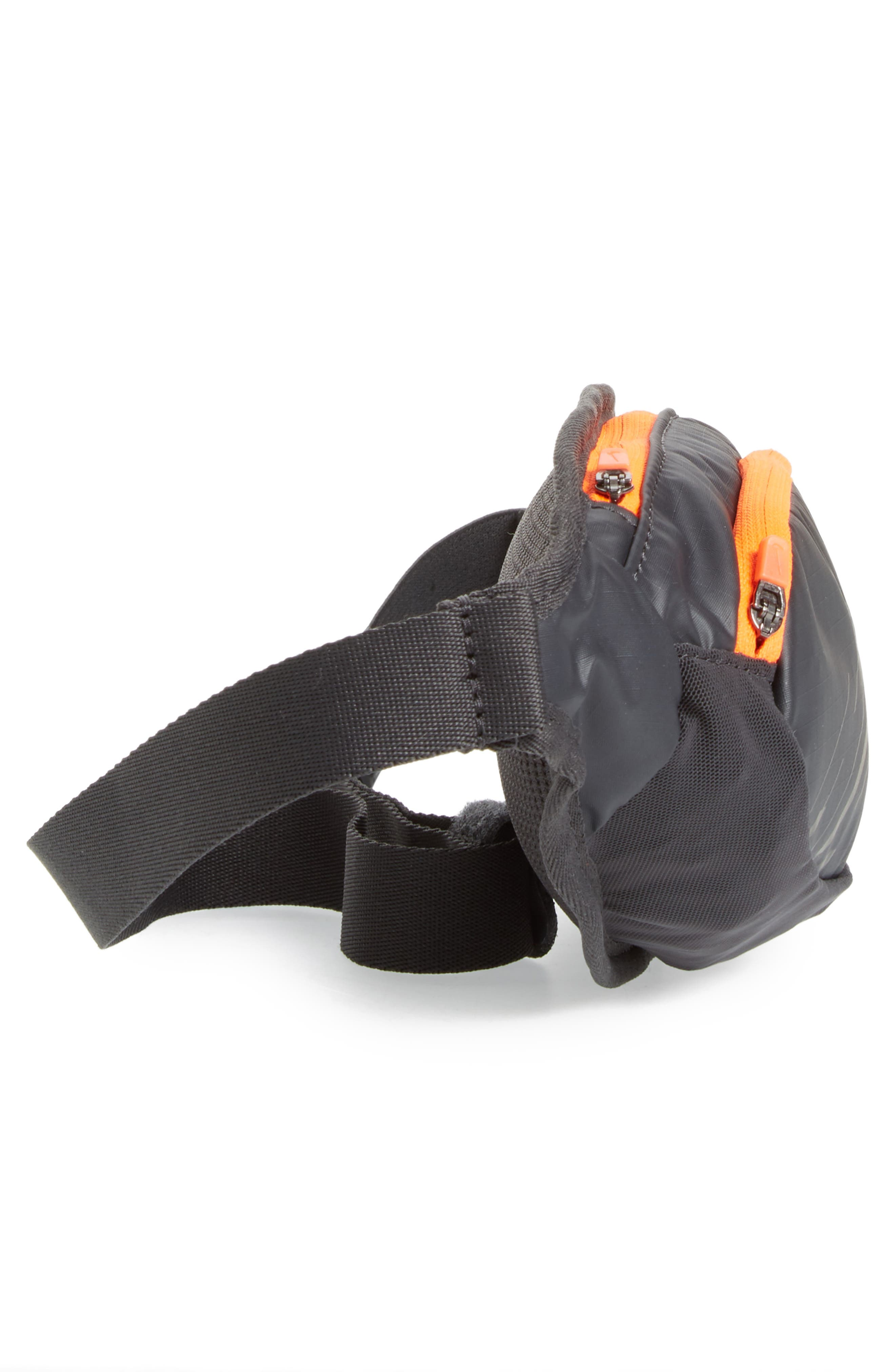 Large Capacity Hip Pack,                             Alternate thumbnail 3, color,                             Anthracite/ Black/ Silver