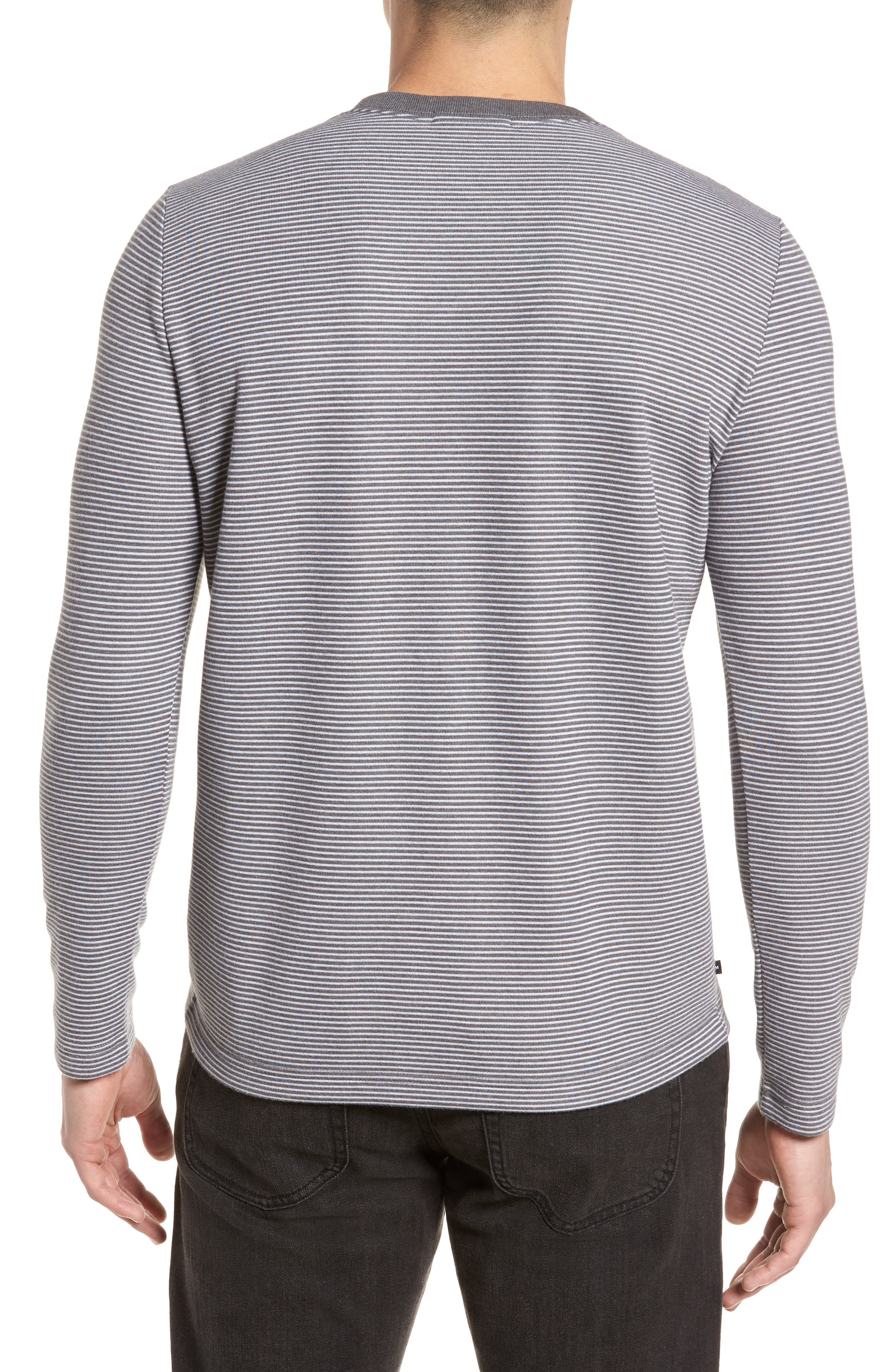 Outpost Stripe Pullover,                             Alternate thumbnail 2, color,                             Quiet Shade