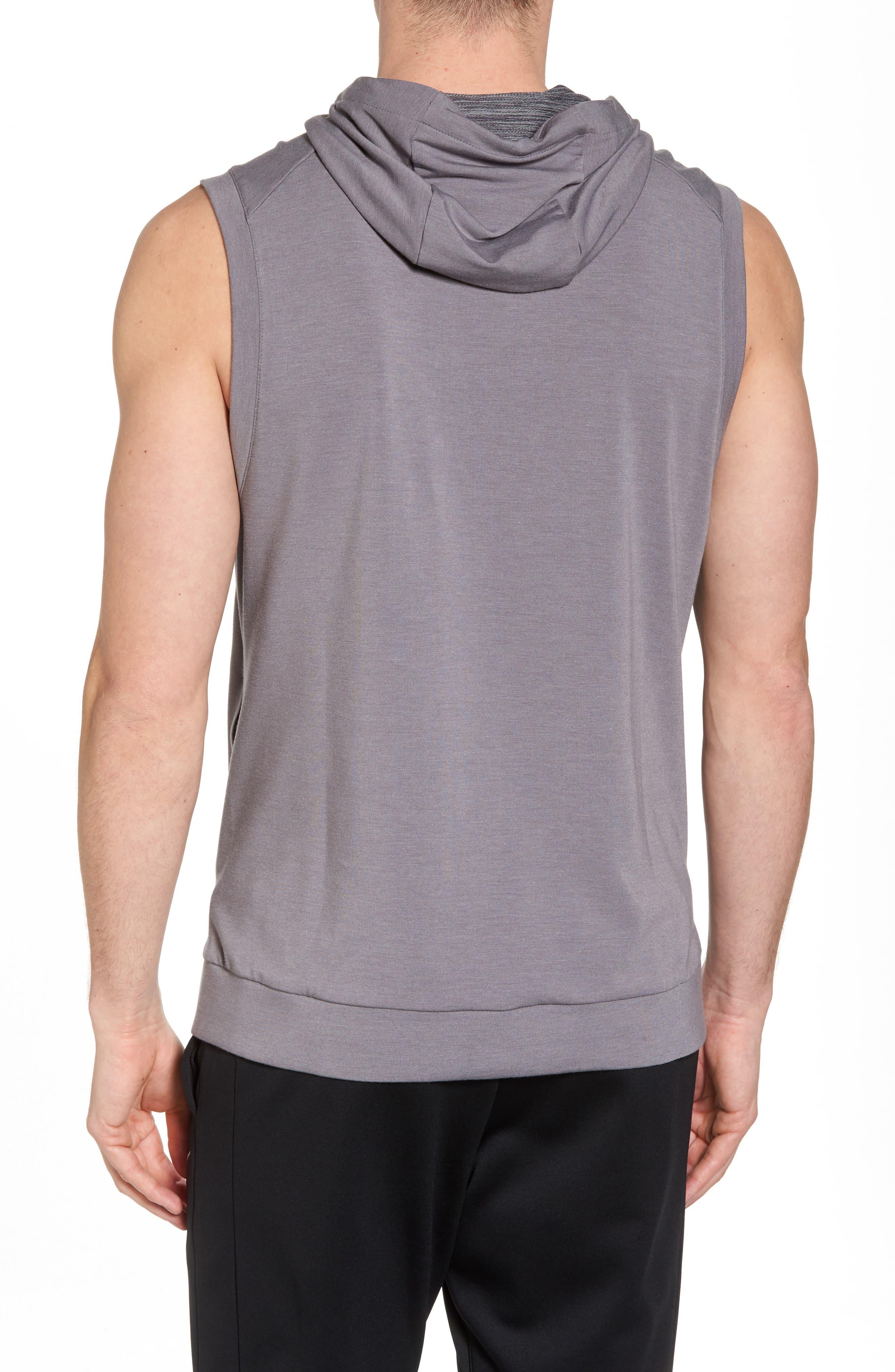 Alternate Image 2  - Nike Dry Training Day Sleeveless Hoodie