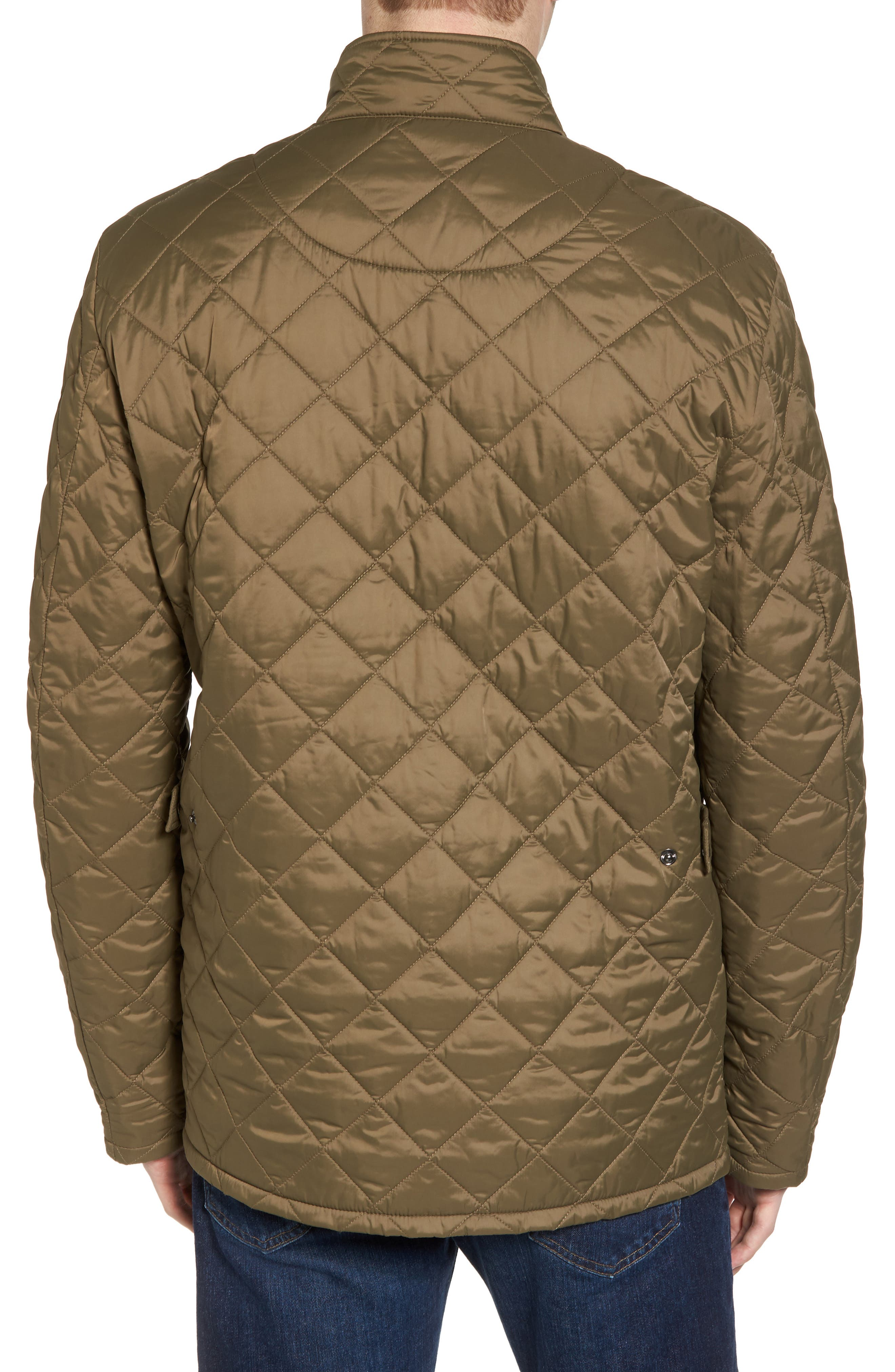 Flyweight Chelsea Quilted Jacket,                             Alternate thumbnail 2, color,                             Clay