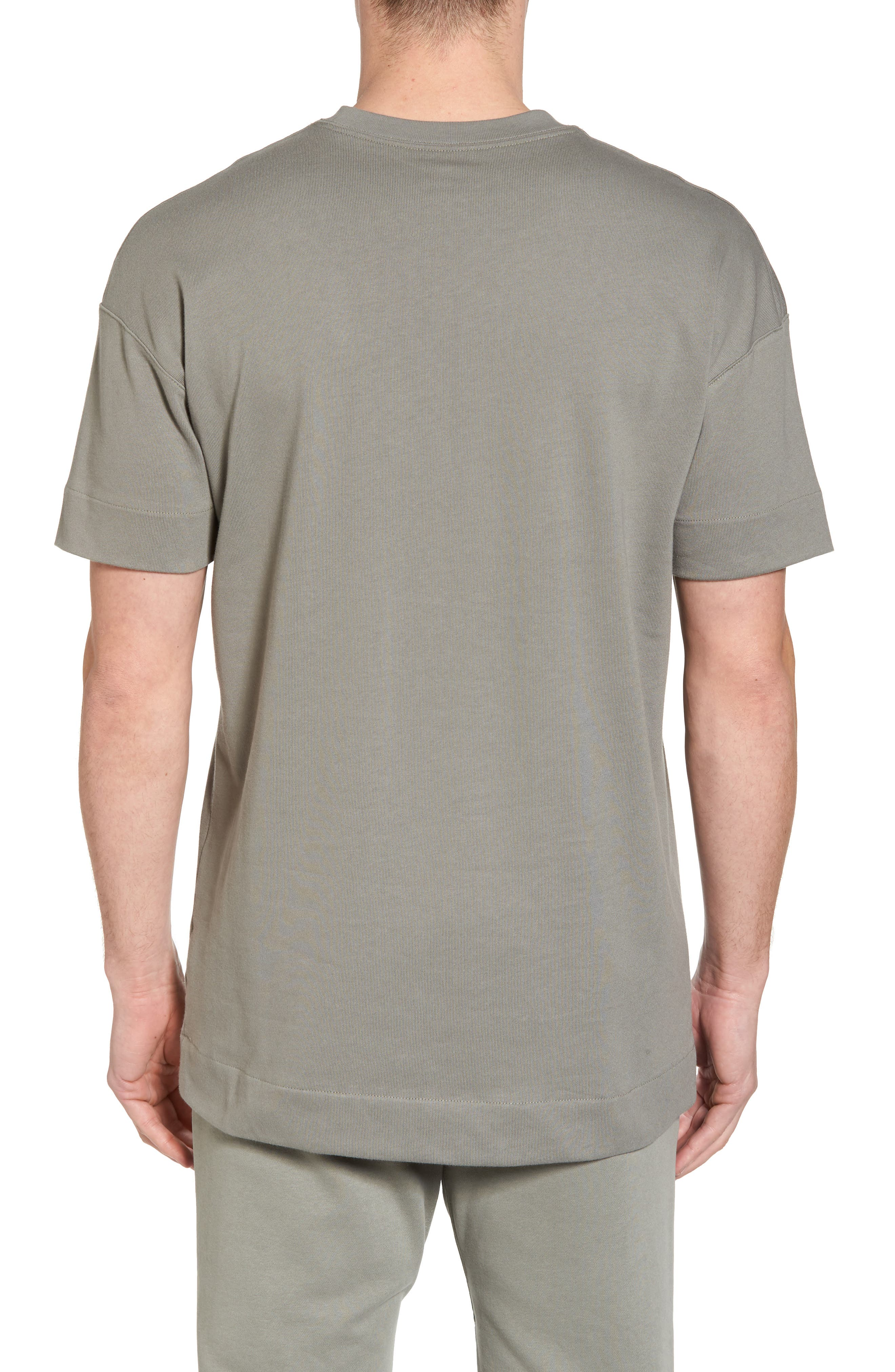 NSW Heavyweight AF-1 T-Shirt,                             Alternate thumbnail 2, color,                             Neutral Olive/ Medium Olive