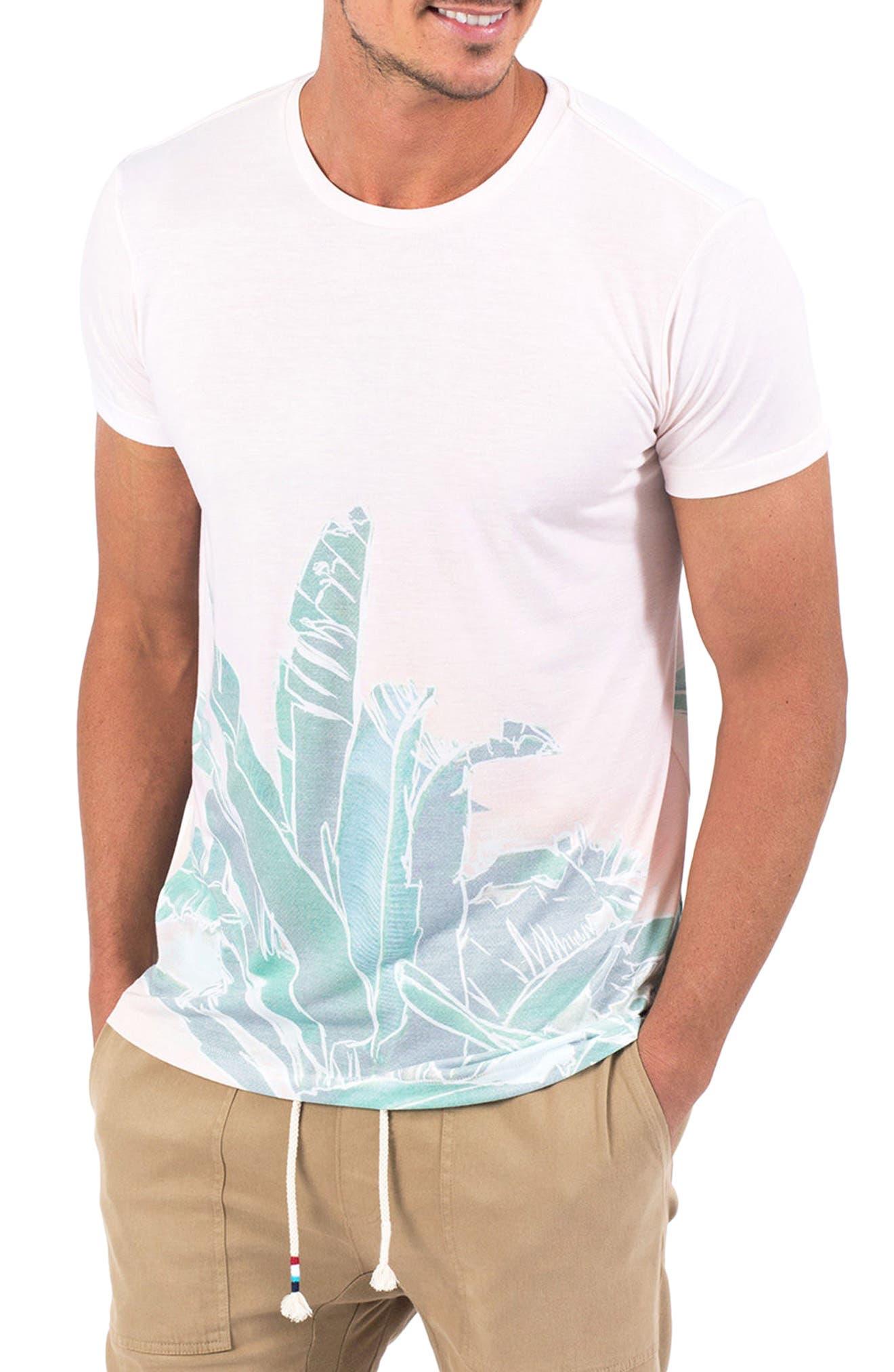 Banana Leaf Graphic T-Shirt,                             Main thumbnail 1, color,                             Banana Leaf