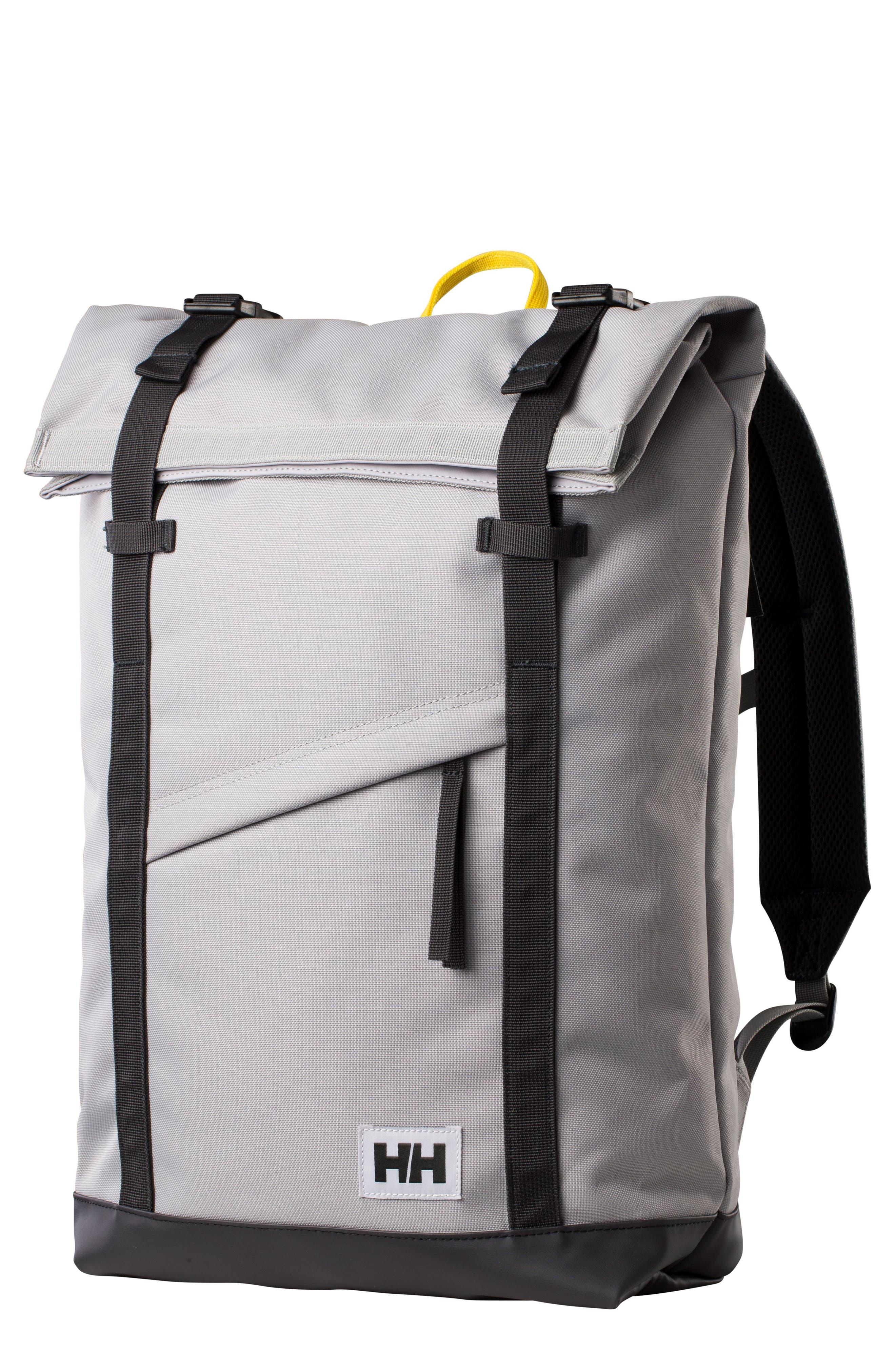 Stockholm Backpack,                         Main,                         color, Silver Grey