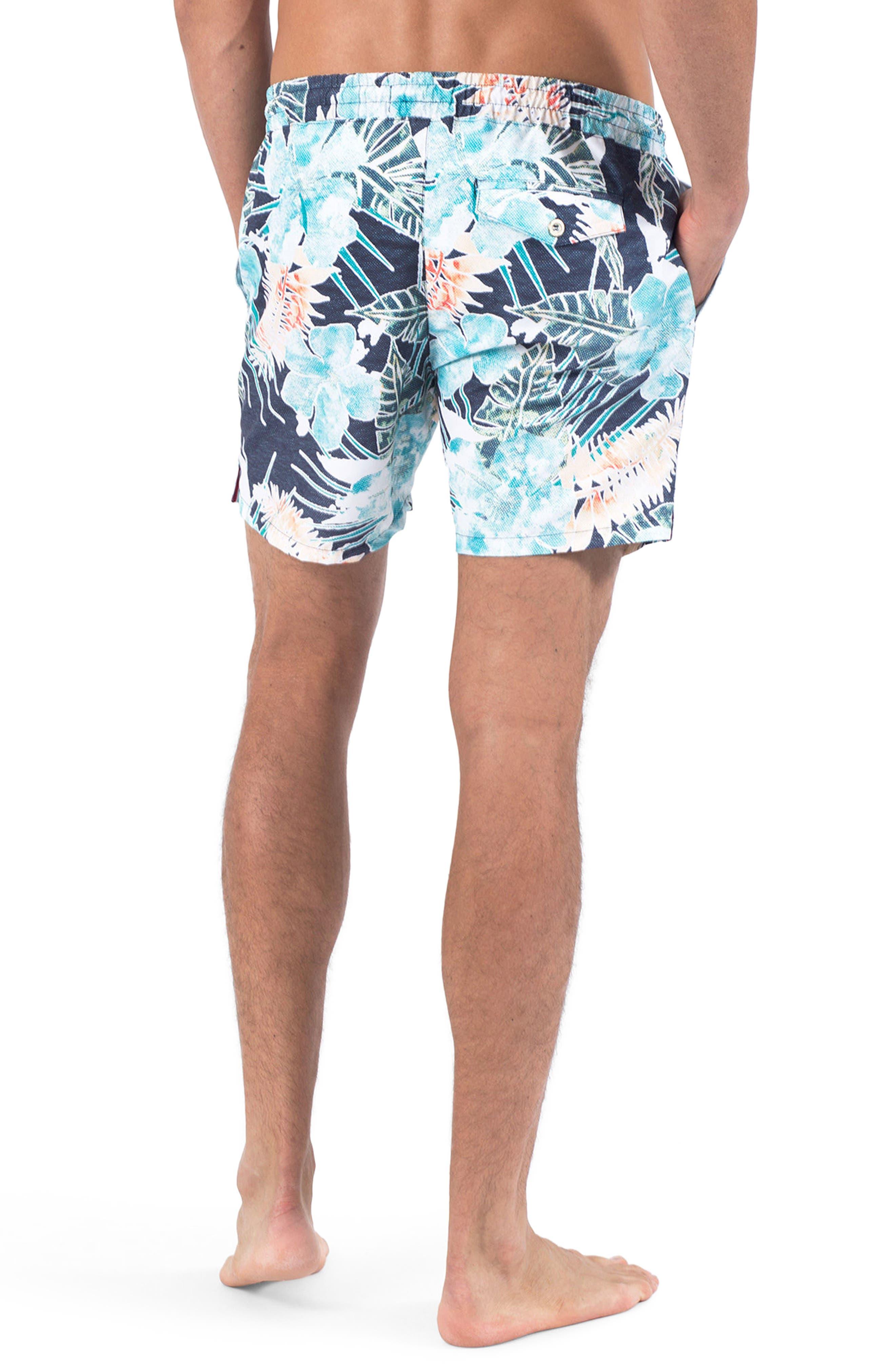Botanica Verde Swim Shorts,                             Alternate thumbnail 2, color,                             Botanica Verde
