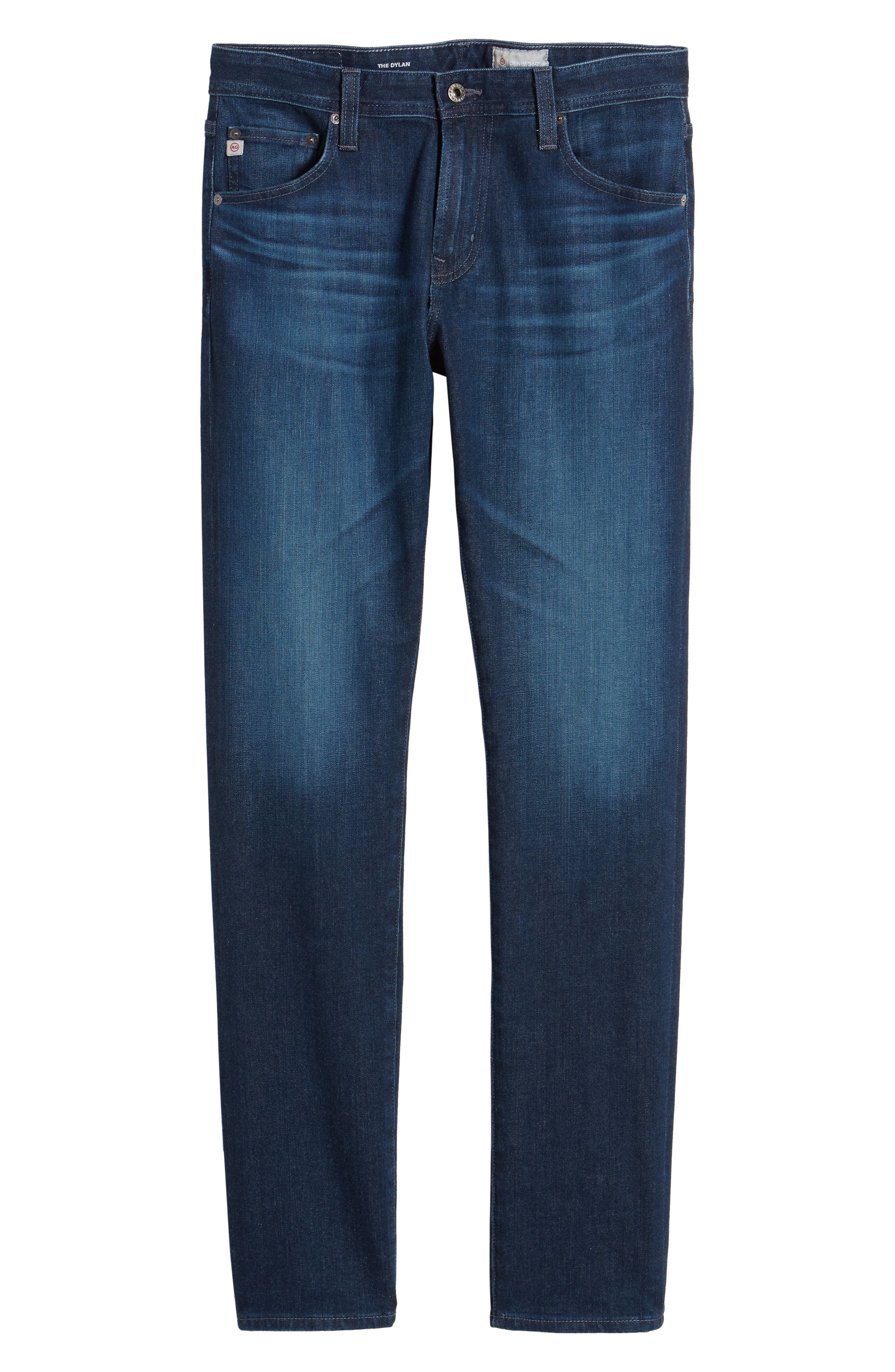 Dylan Skinny Fit Jeans,                             Alternate thumbnail 6, color,                             Crosscreek