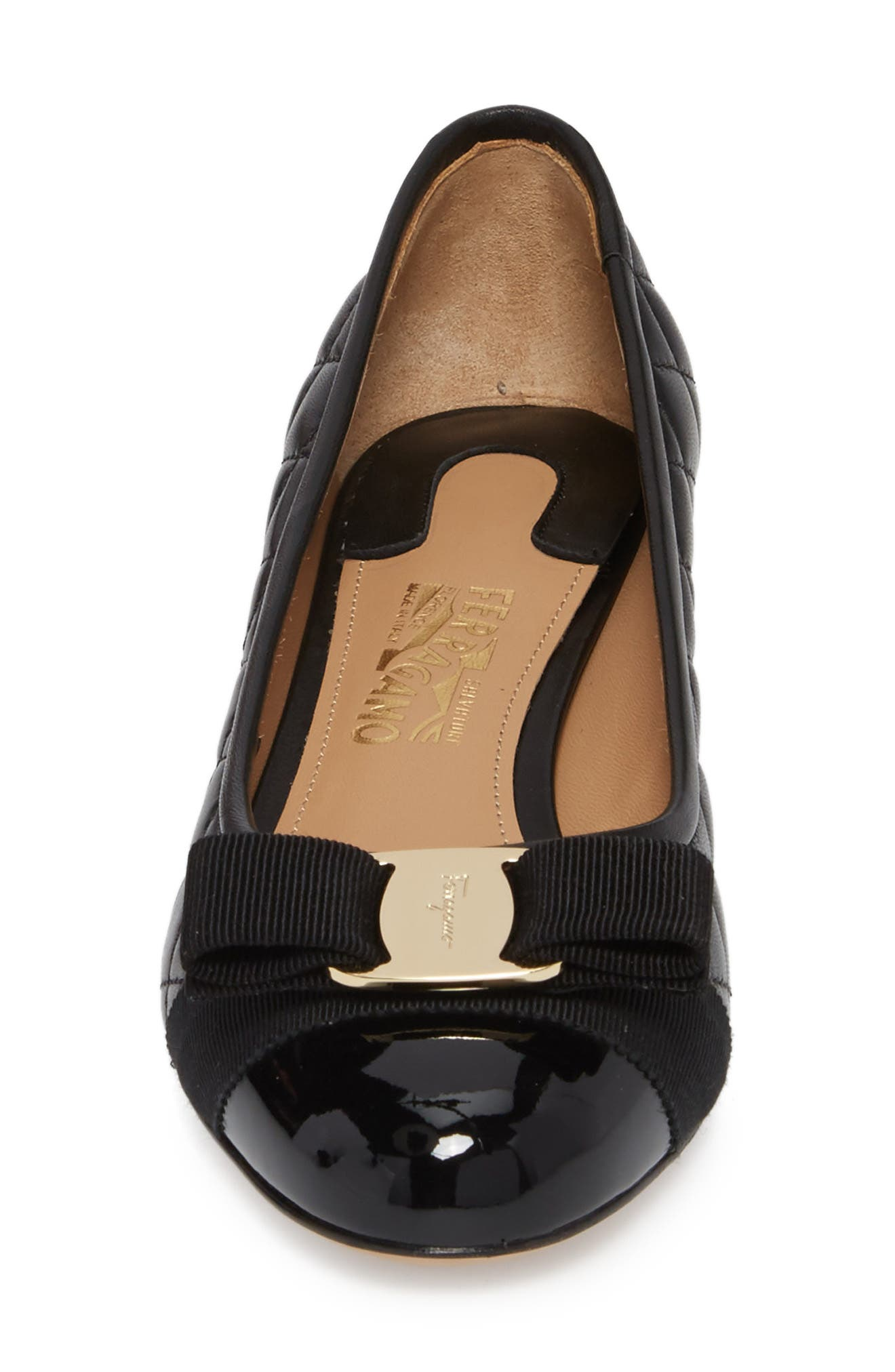 Alternate Image 4  - Salvatore Ferragamo Vara Pump (Women)